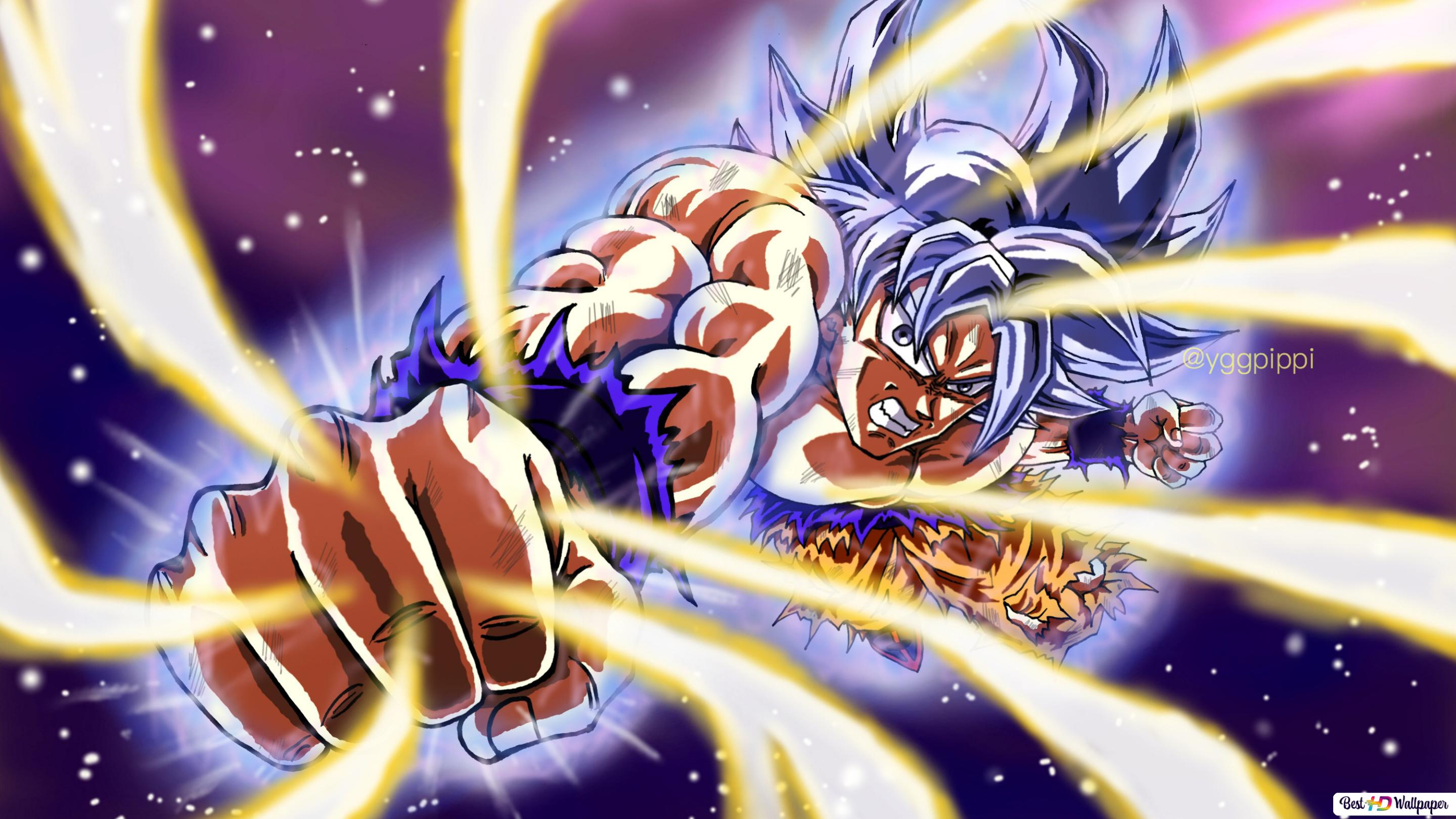 Dragon Ball Super Goku Ultra Instinct Hd Wallpaper Downloaden