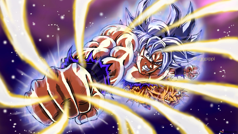 Dragon Ball Super Goku Ultra Instinct Hd Wallpaper Downloaden