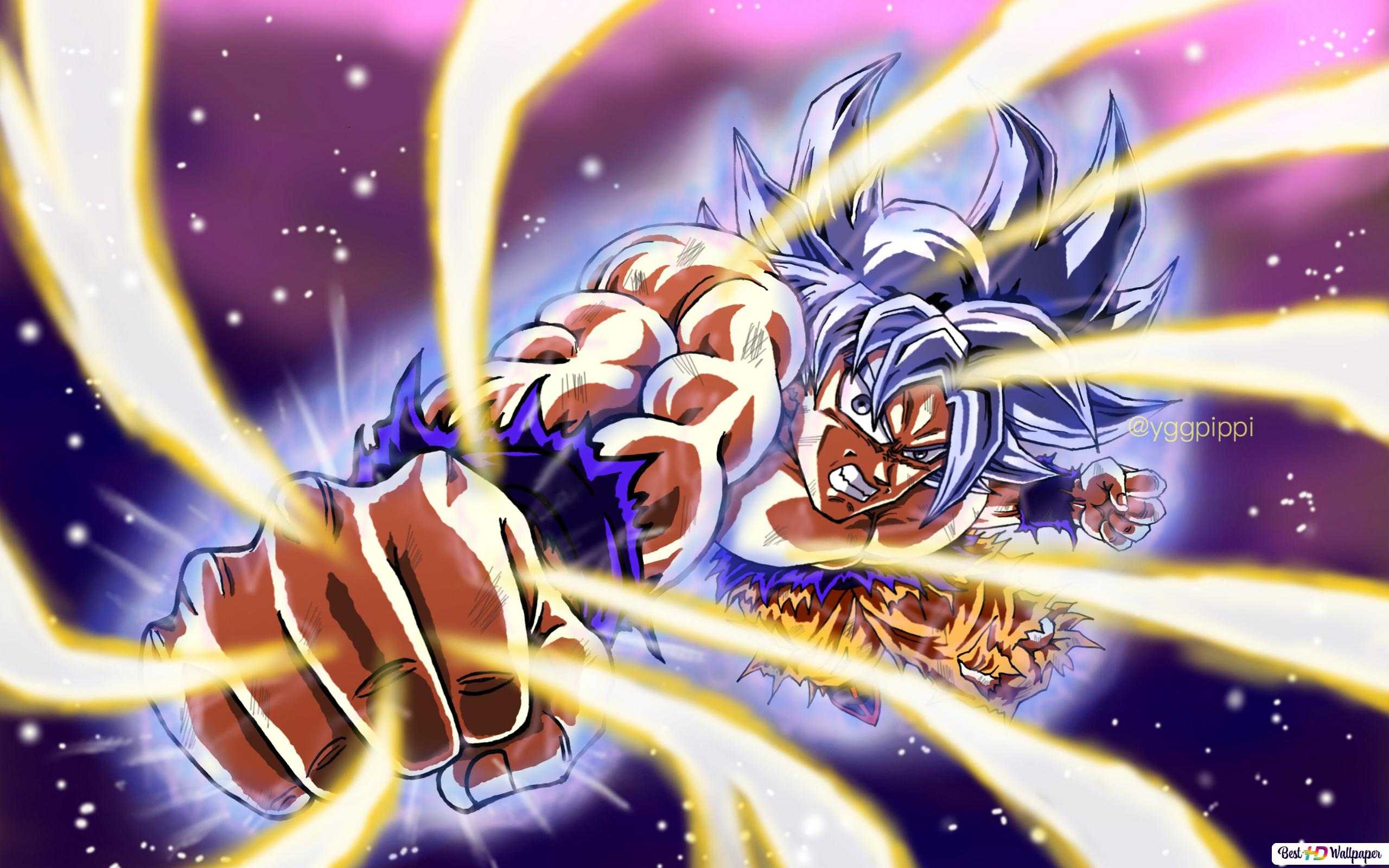 Dragon Ball Super Goku Ultra Instinct Hd Wallpaper Download