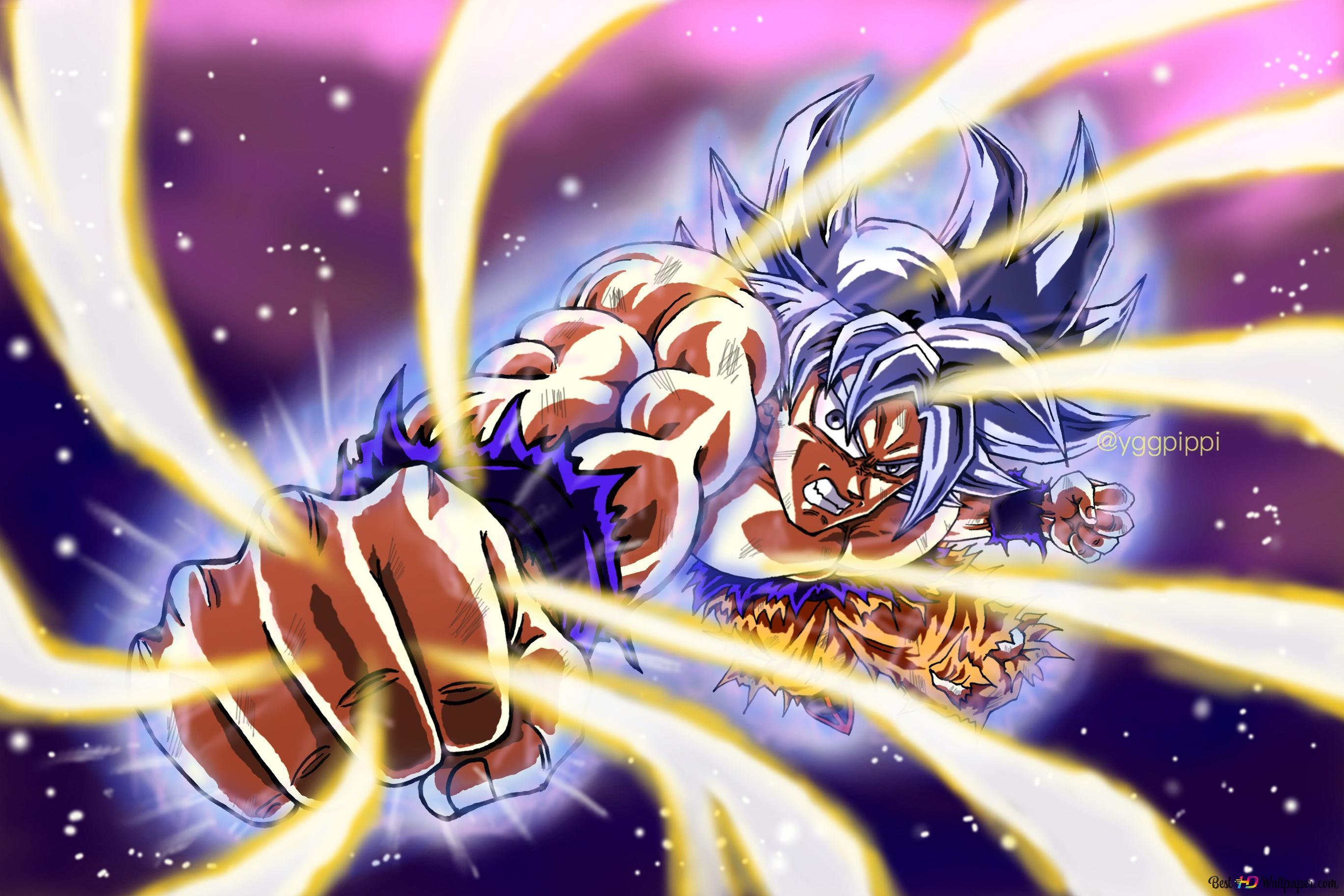 Dragon Ball Super Goku Ultra Instinct Hd Wallpaper Download