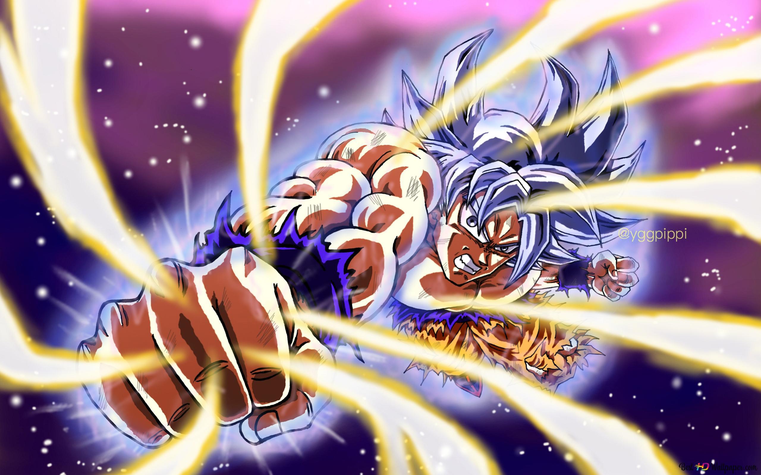 Descargar Fondo De Pantalla Dragon Ball Super Goku Ultra