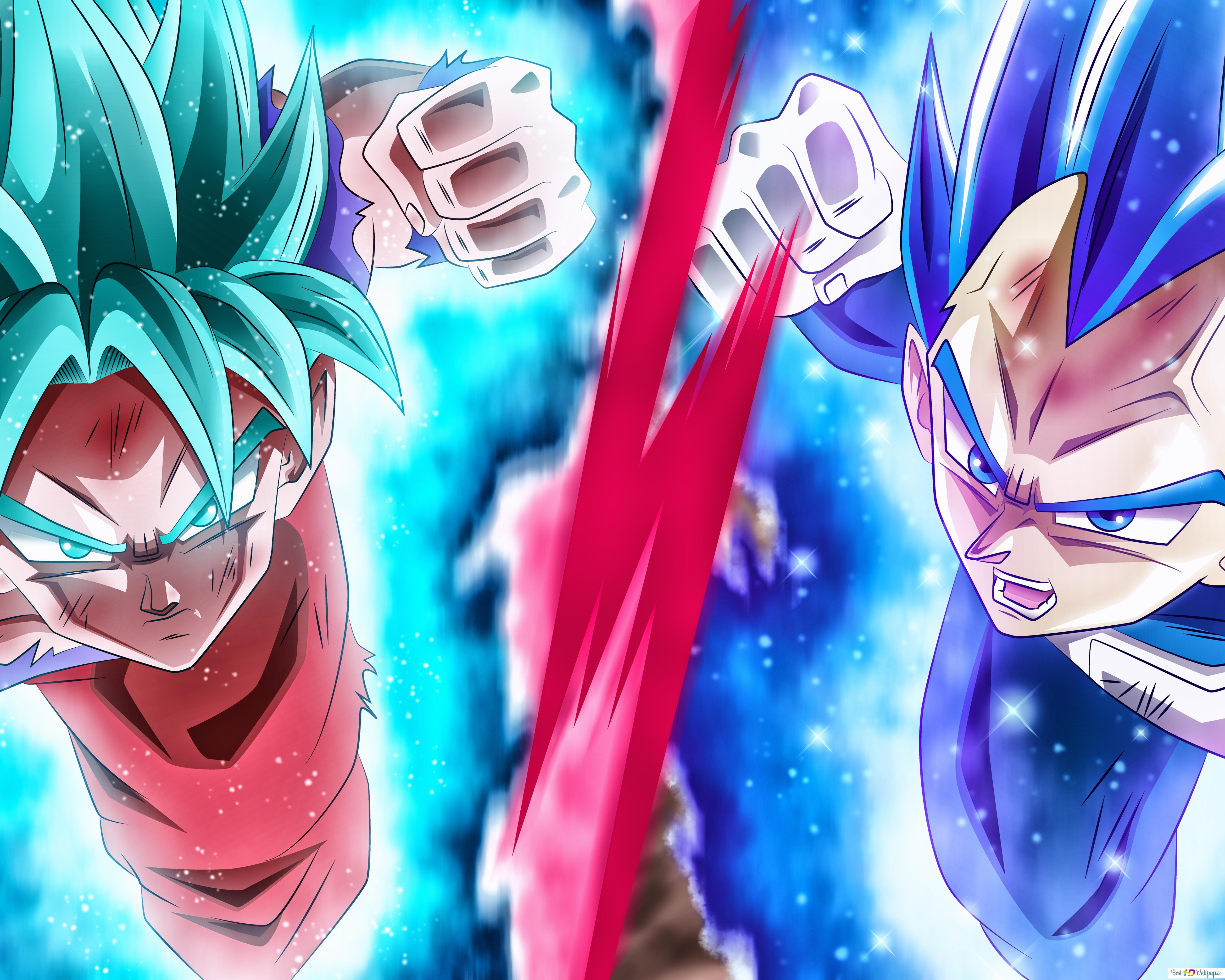 Dragon Ball Super Goku Vegeta Unduhan Wallpaper Hd