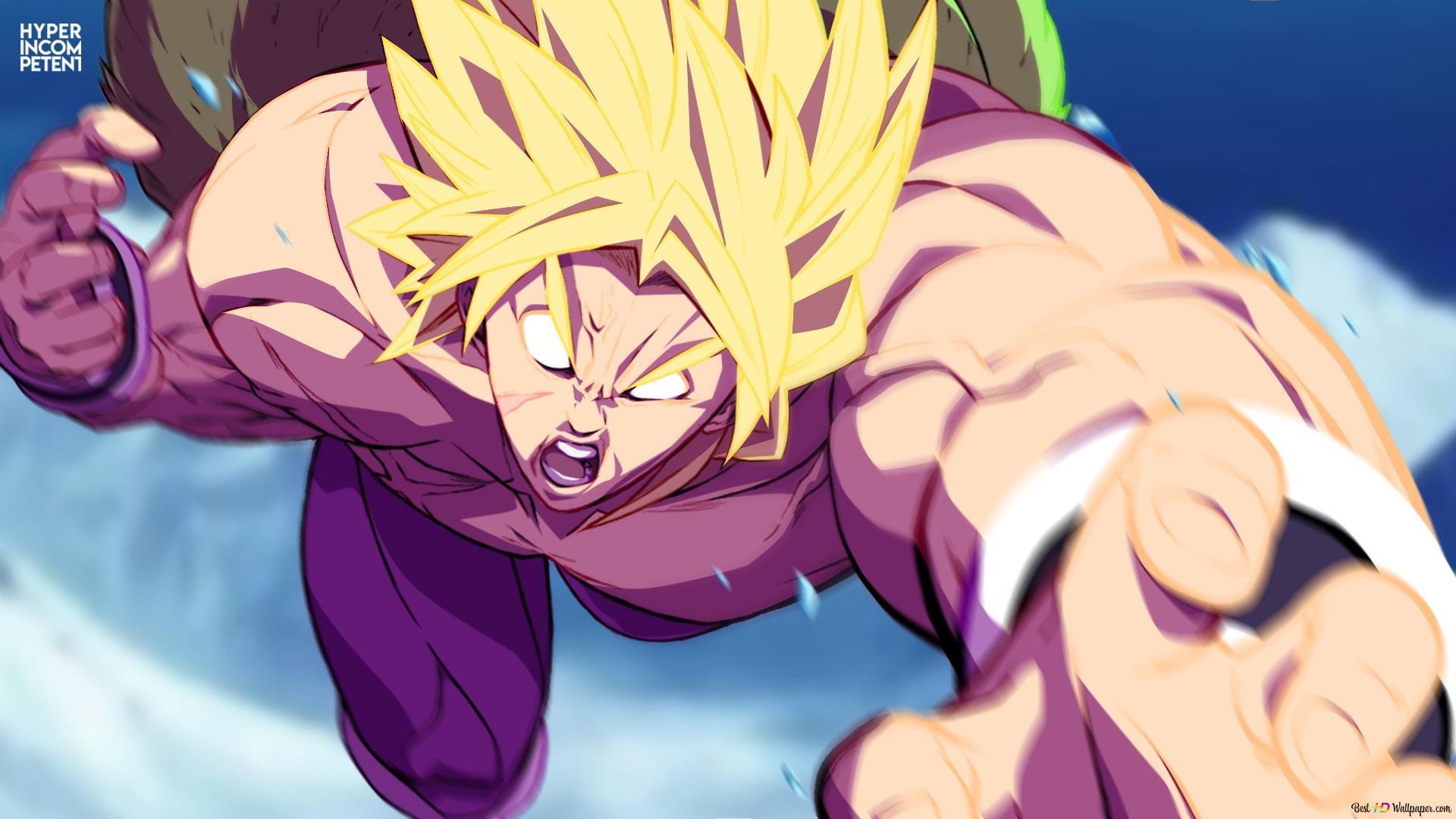 Dragon Ball Super Legendary Super Saiyan Broly Hd Wallpaper Download