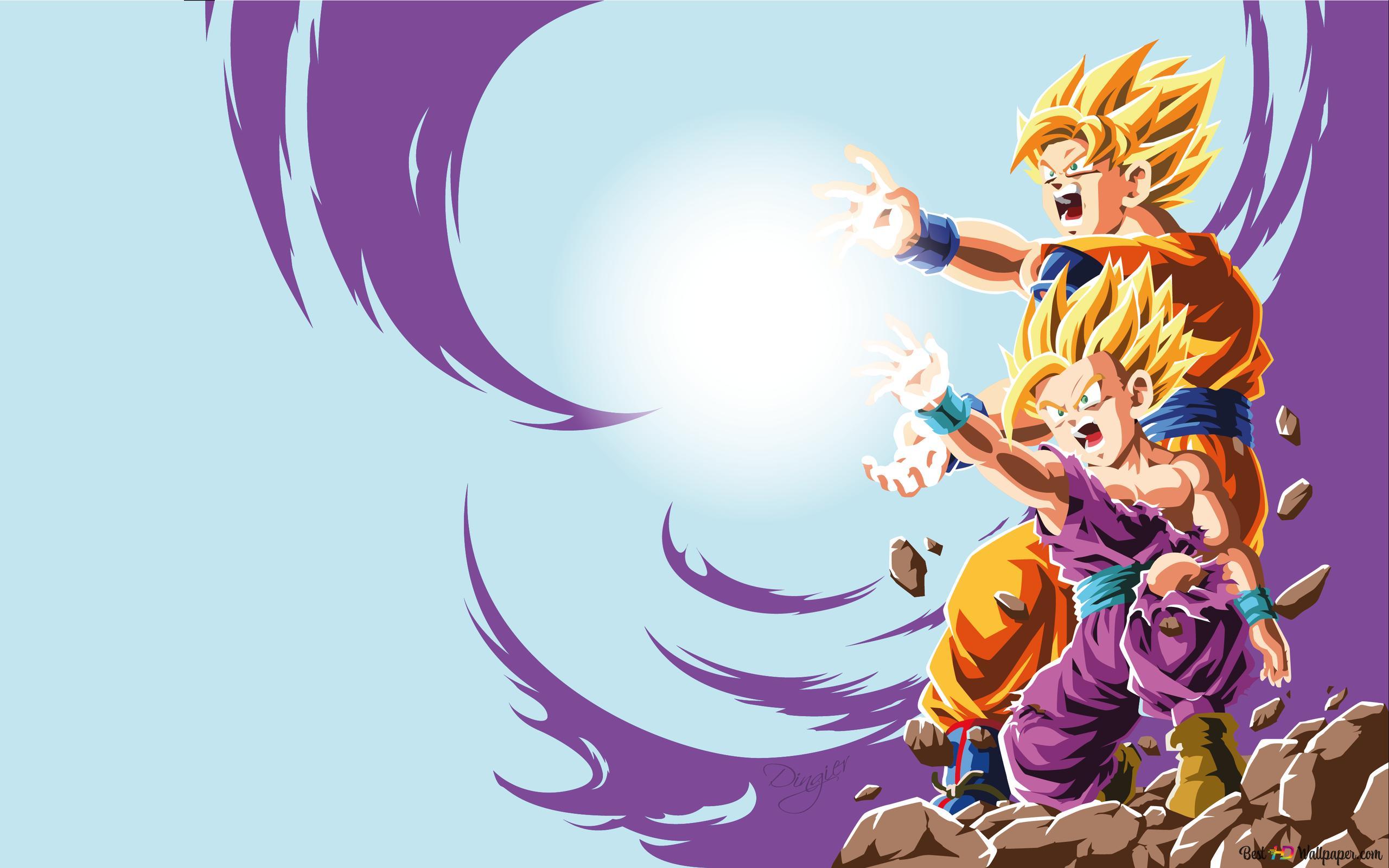 dragon ball z gohan goku wallpaper 2560x1600 15298 7