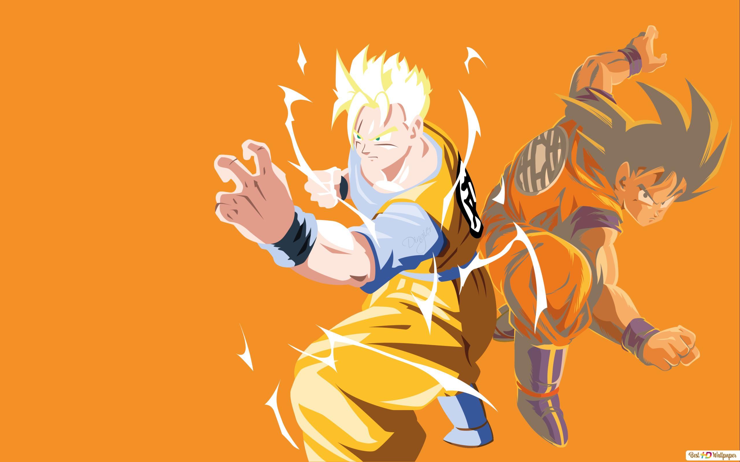 Dragon Ball Z Goku Gohan Unduhan Wallpaper Hd