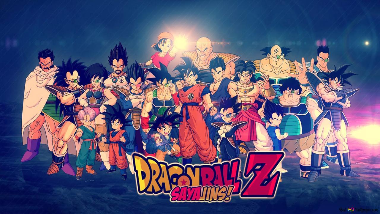 Dragon Ball Z Hd Hintergrundbilder Herunterladen