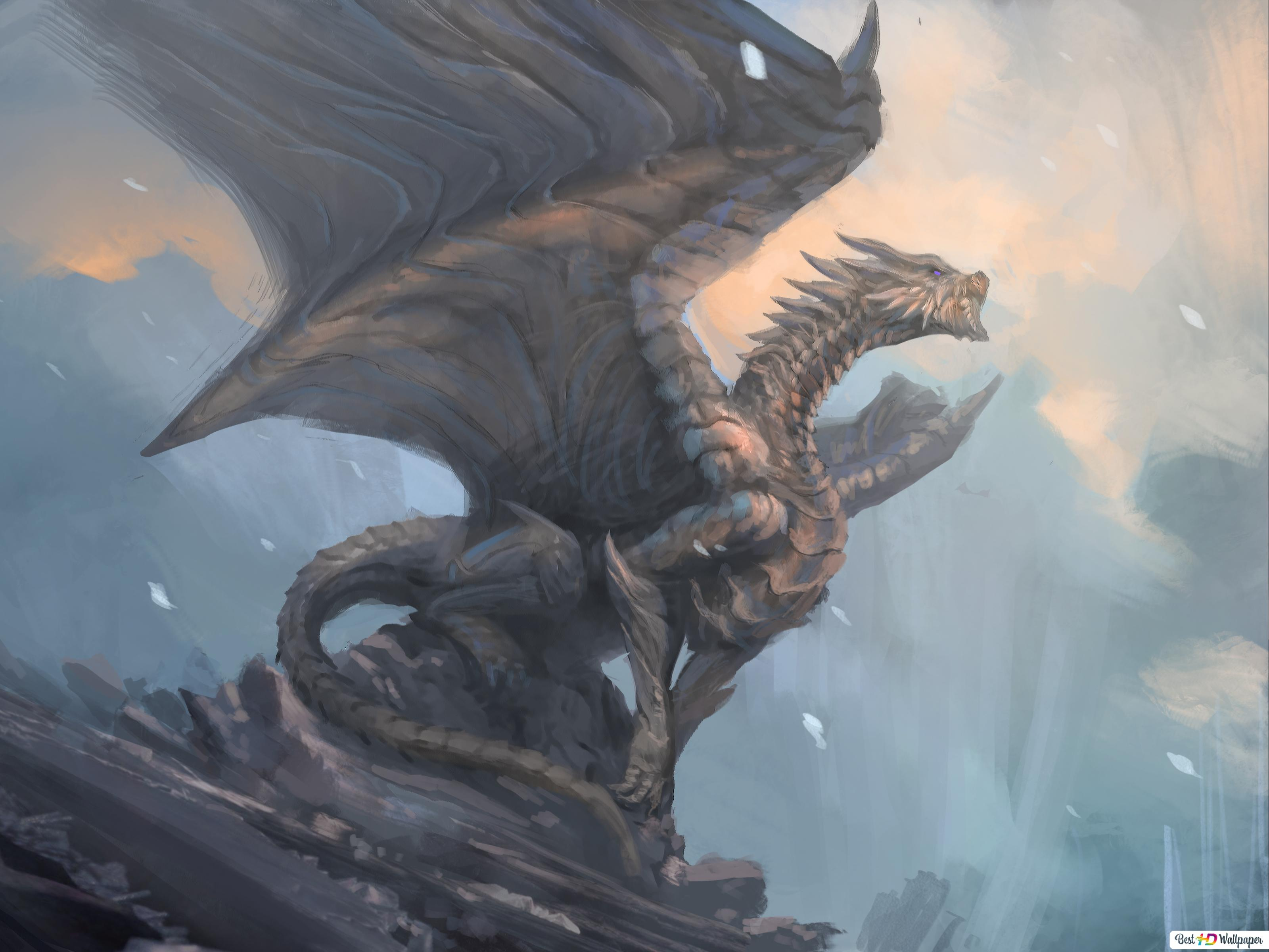 dragon mythical creature wallpaper 3200x2400 15100 29