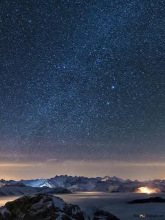 datation Divas nuit sous les étoiles