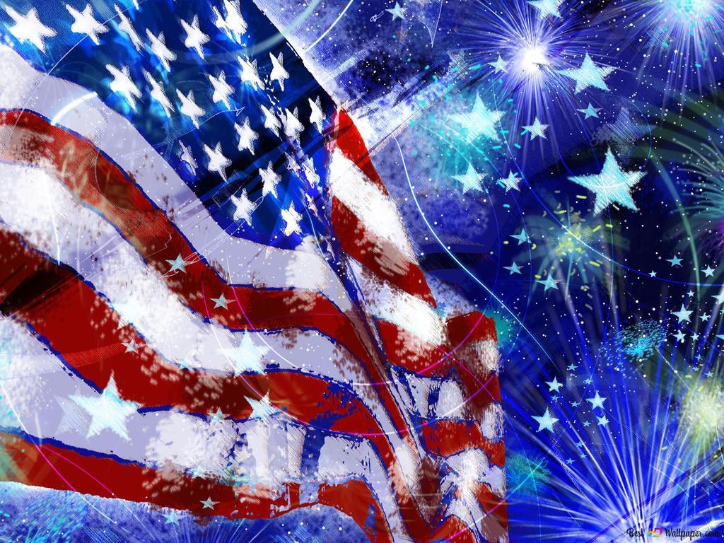 独立記念日 アメリカの国旗 Hd壁紙のダウンロード