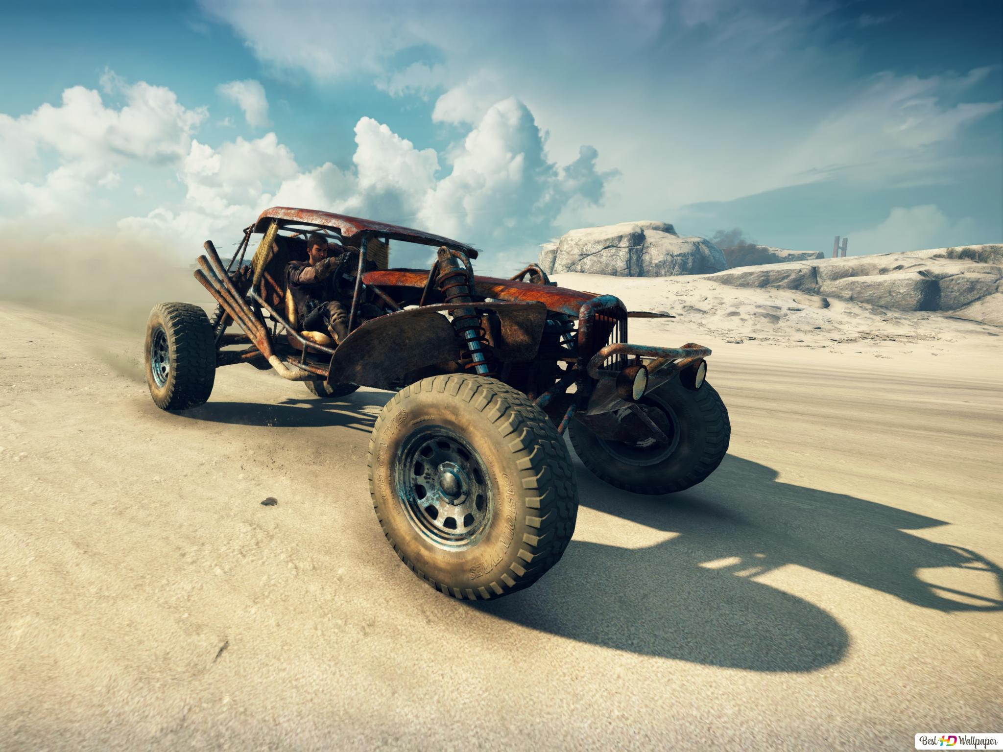Dune Buggy of Mad Max HD wallpaper download