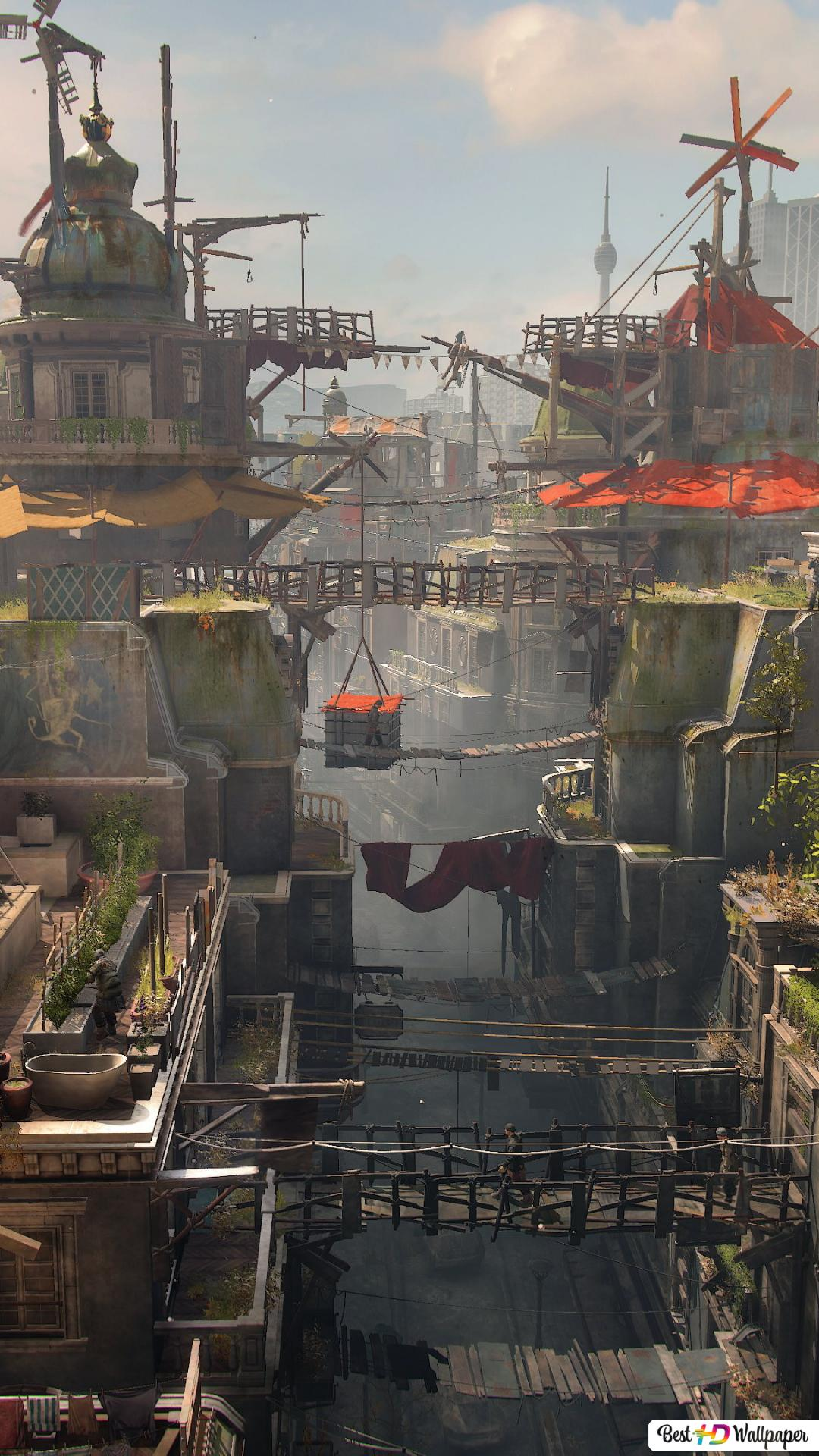 Dying Light 2 City Hd Wallpaper Download