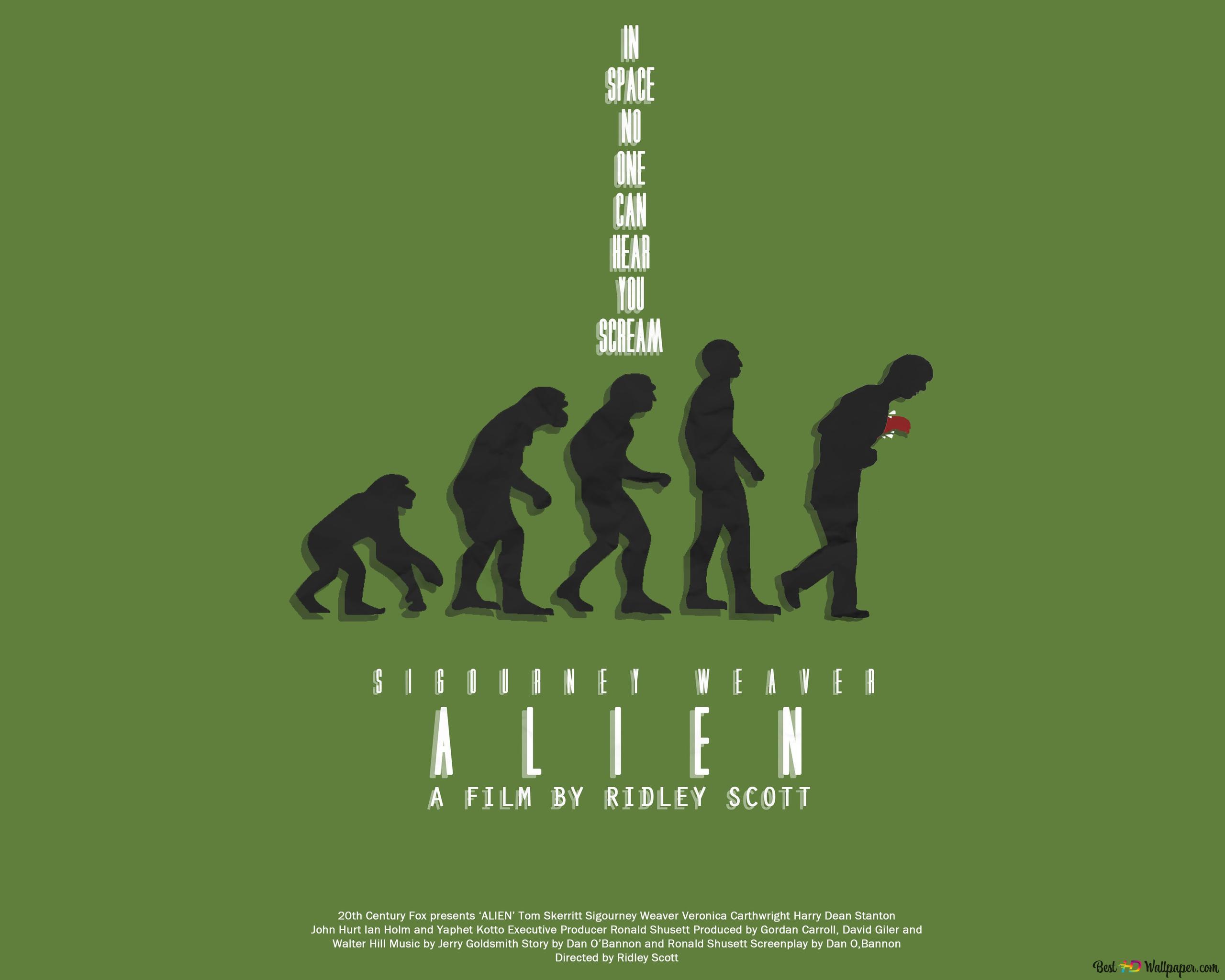 エイリアン 男の進化 Hd壁紙のダウンロード