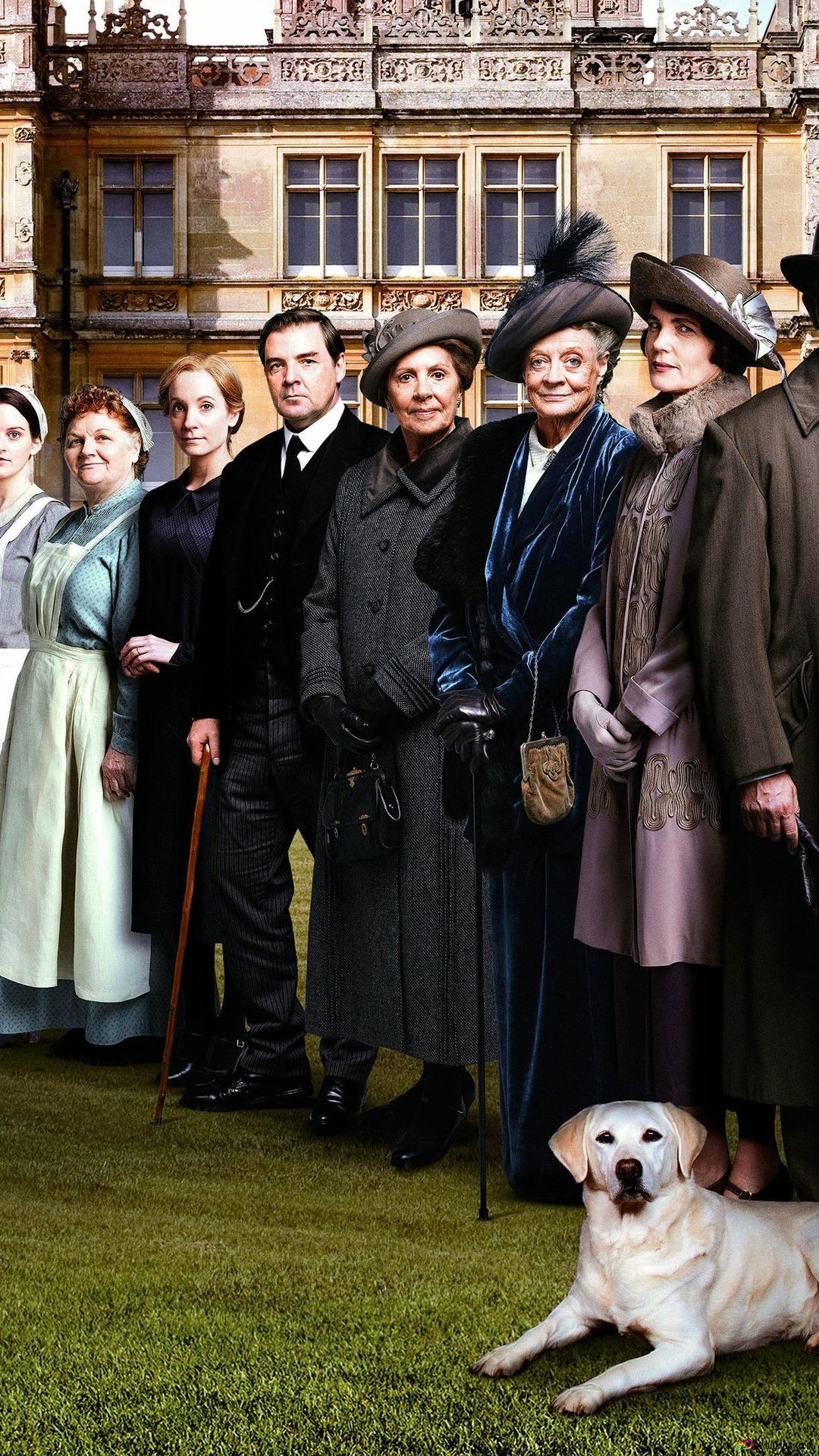 Descargar Fondo De Pantalla El Pueblo De Downton Abbey Hd