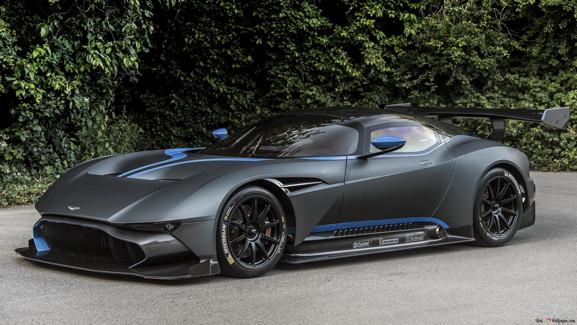 Descargar Fondo De Pantalla Elegante Aston Martin Vulcan Hd