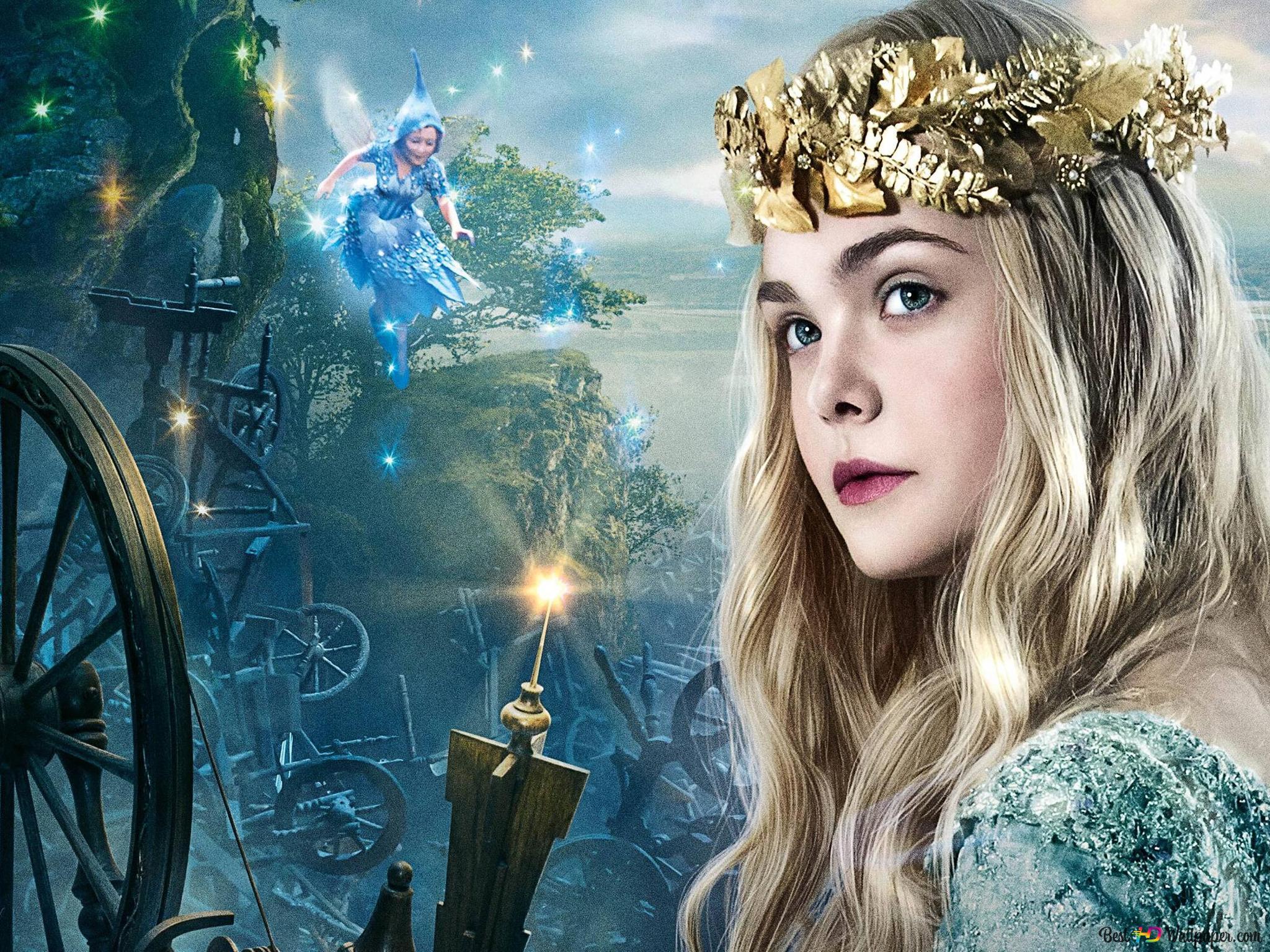 Elle Fanning - Maleficent movie HD wallpaper download