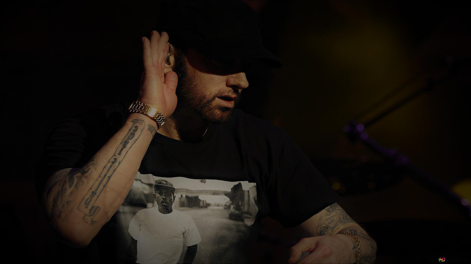 Descargar Fondo De Pantalla Eminem Coachella 2018 En Vivo Hd Hd