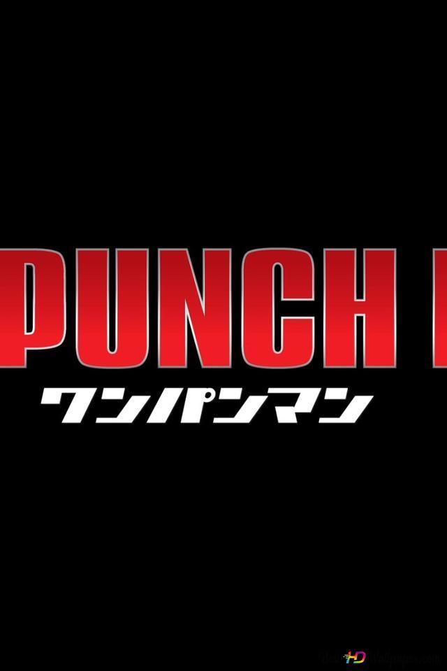 En Punch Man Logo Hd Tapet Download