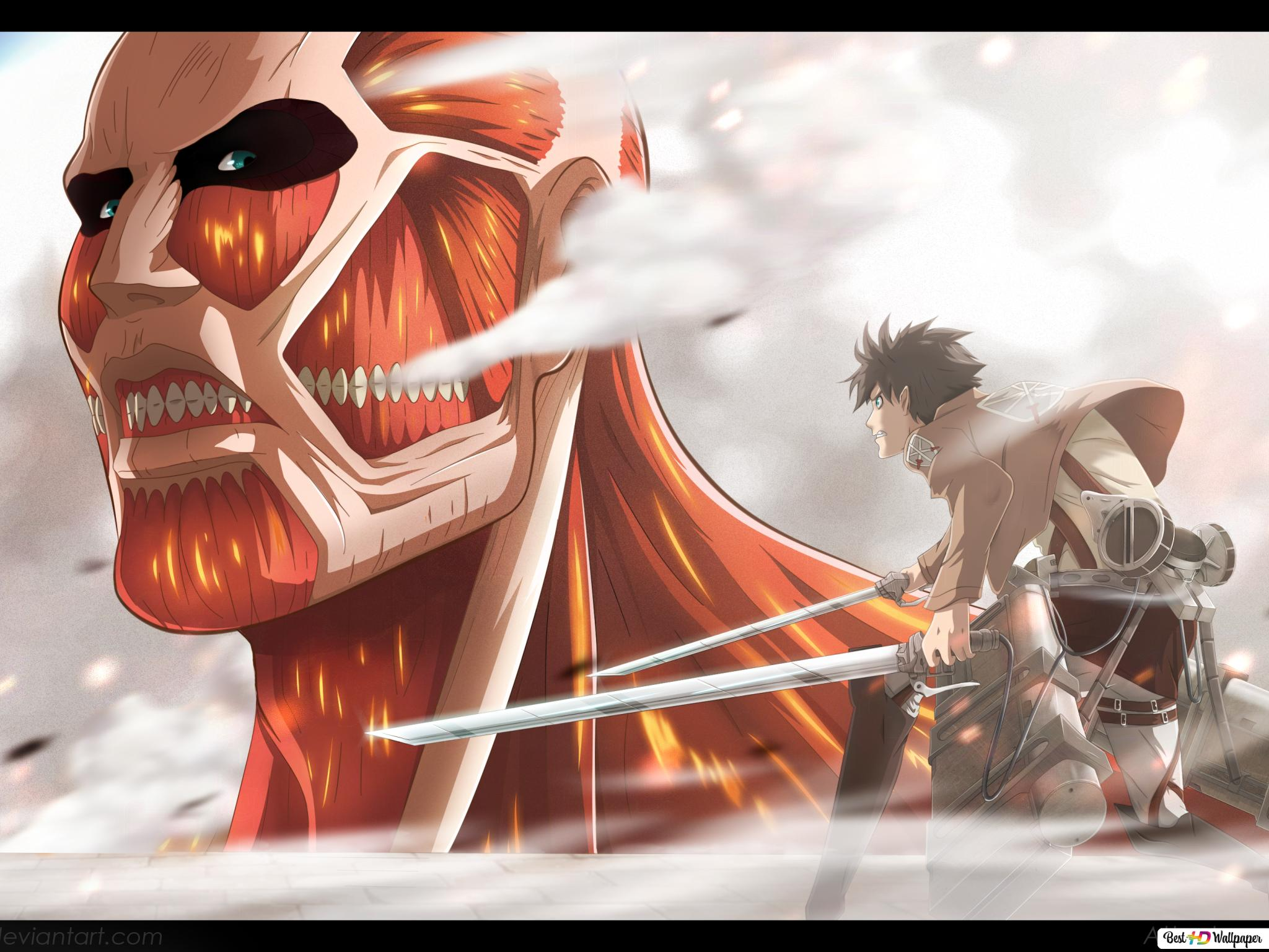 Eren Yeager Hd Wallpaper Download