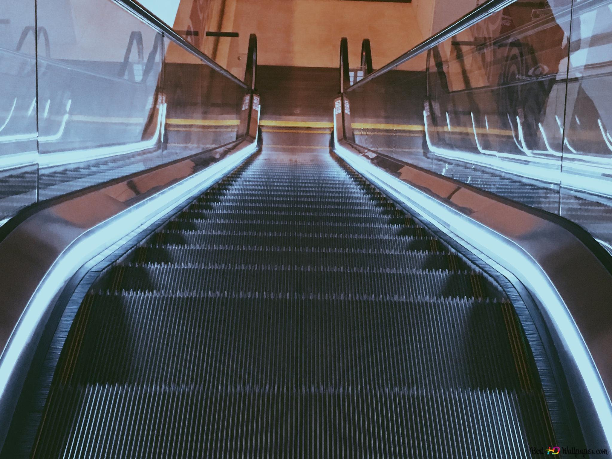 Escalator   Aufzug HD Hintergrundbilder herunterladen