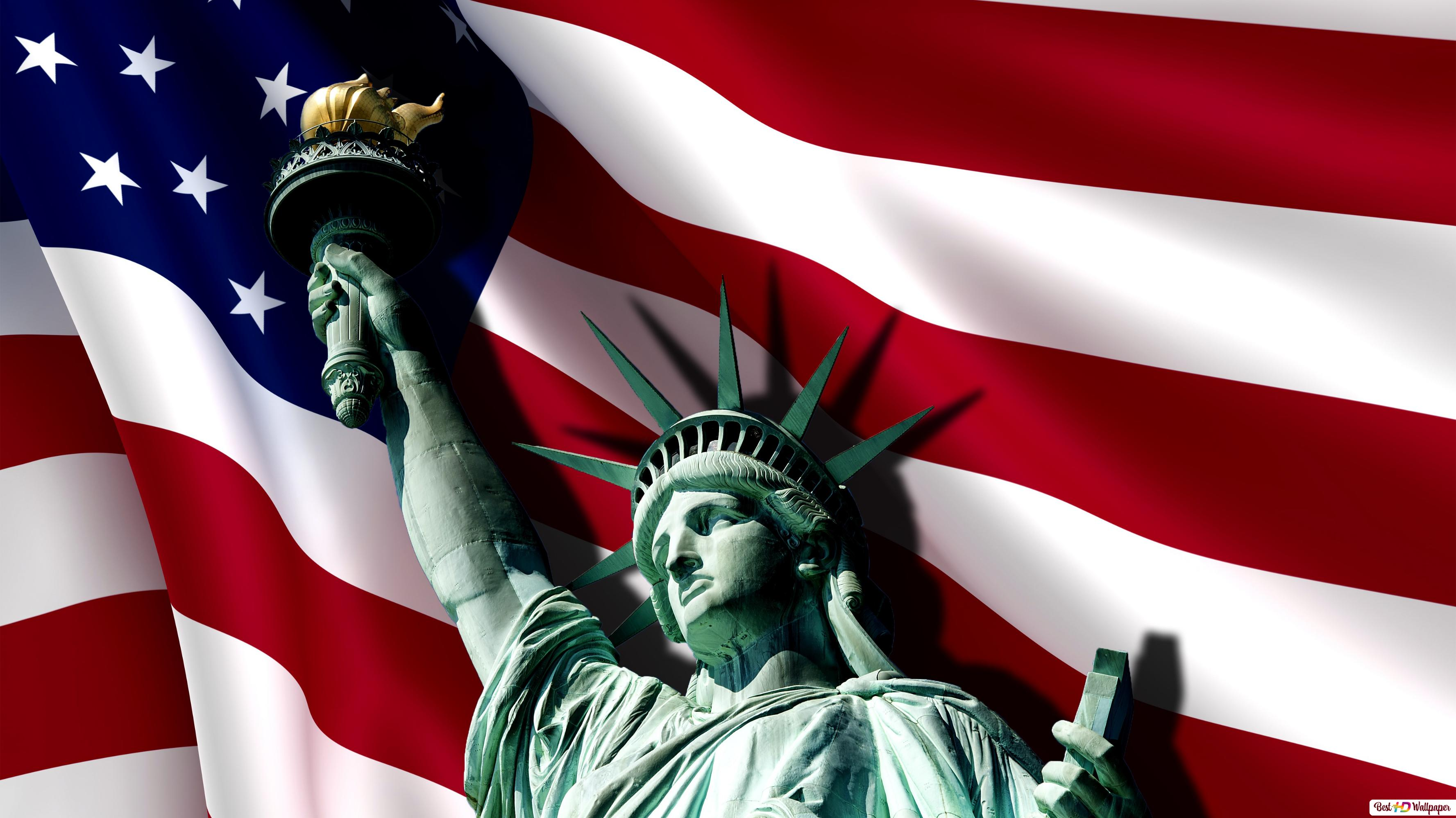 Descargar Fondo De Pantalla Estatua De La Libertad Dia De La