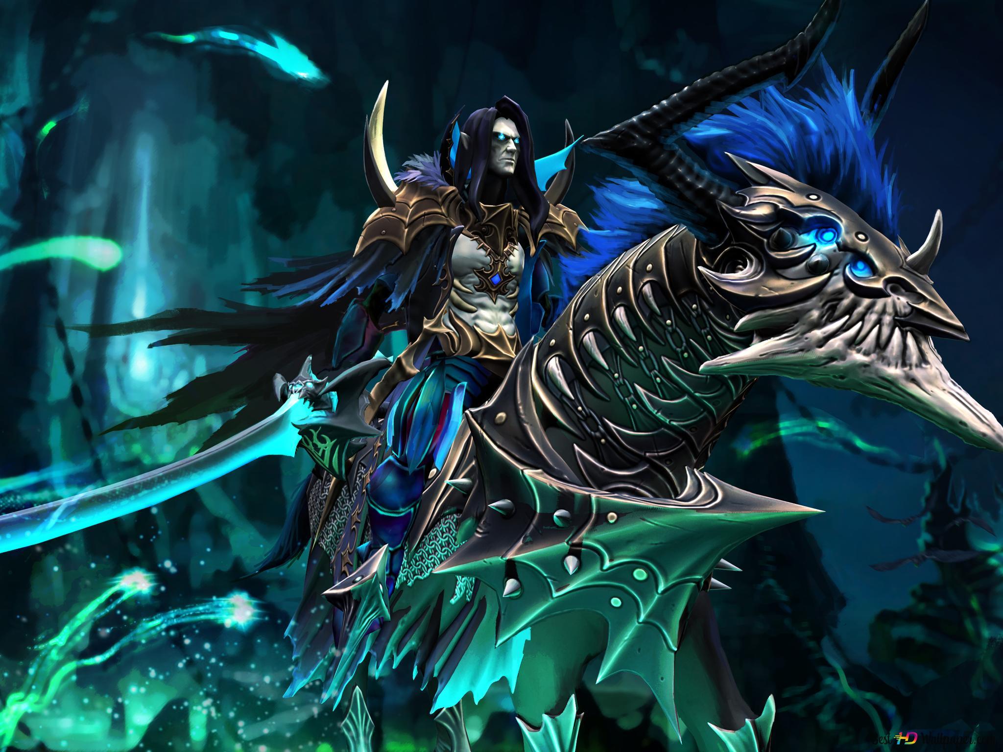 Evil Warrior from DOTA 2 HD wallpaper download