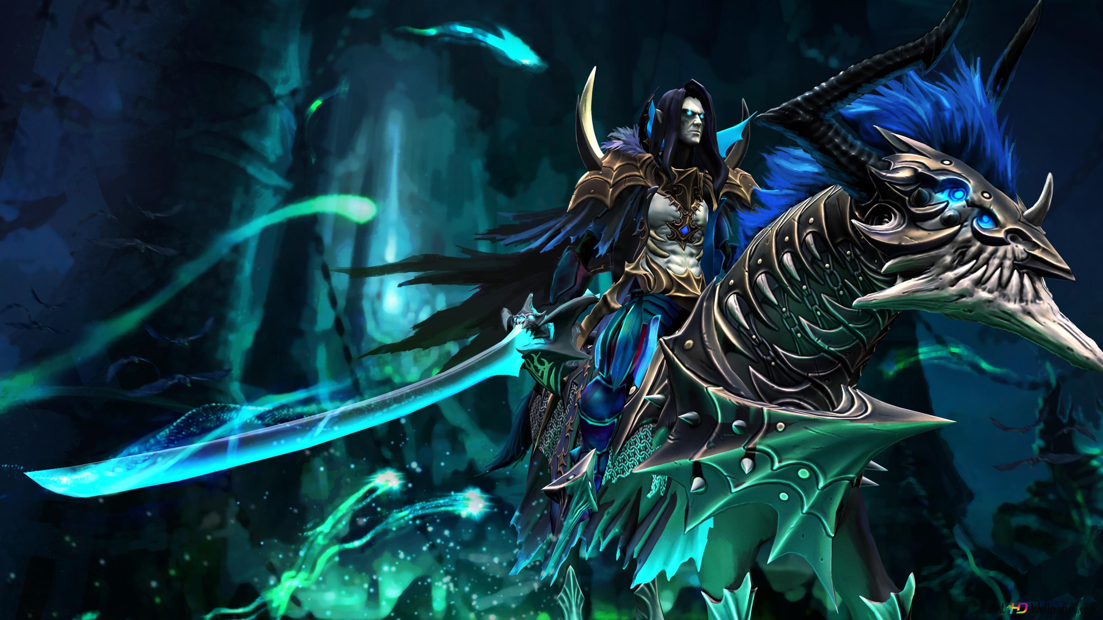 Evil Warrior from DOTA 2 HD wallpaper