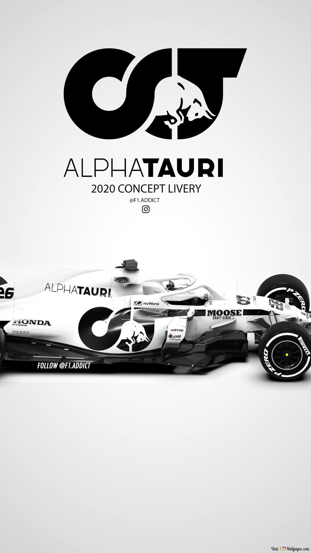 F1アルファタウリtorroロッソ Hd壁紙のダウンロード