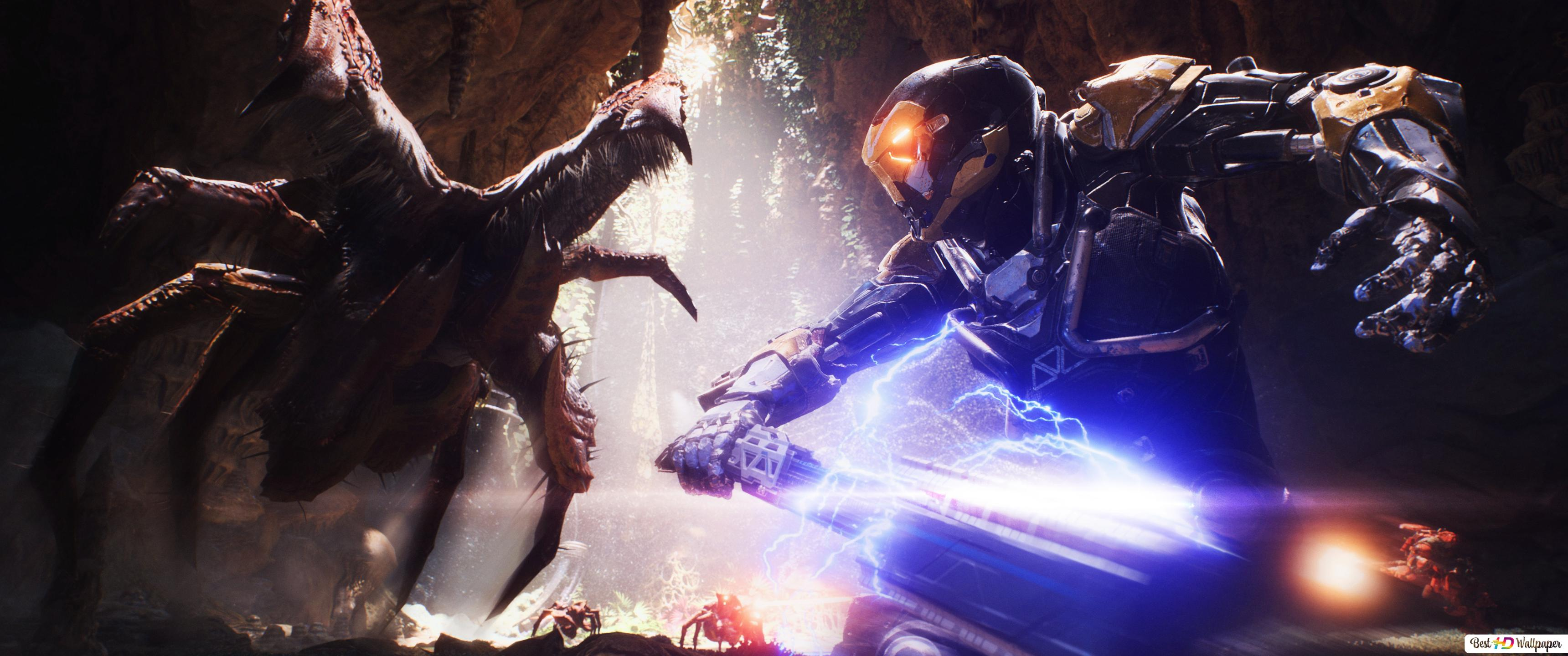 Face Off at Anthem HD wallpaper download