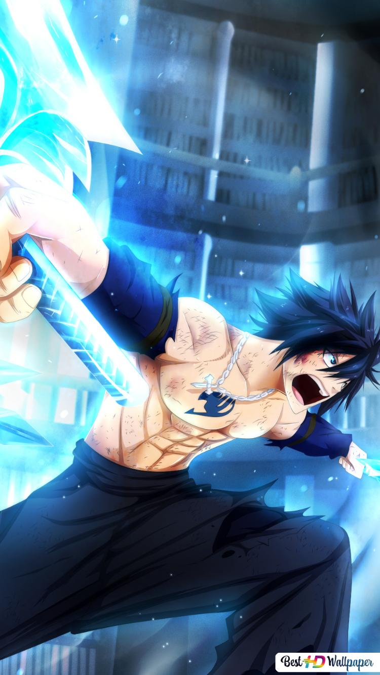 Fairy Tail Gray Fullbuster Ice Make Hd Wallpaper Download