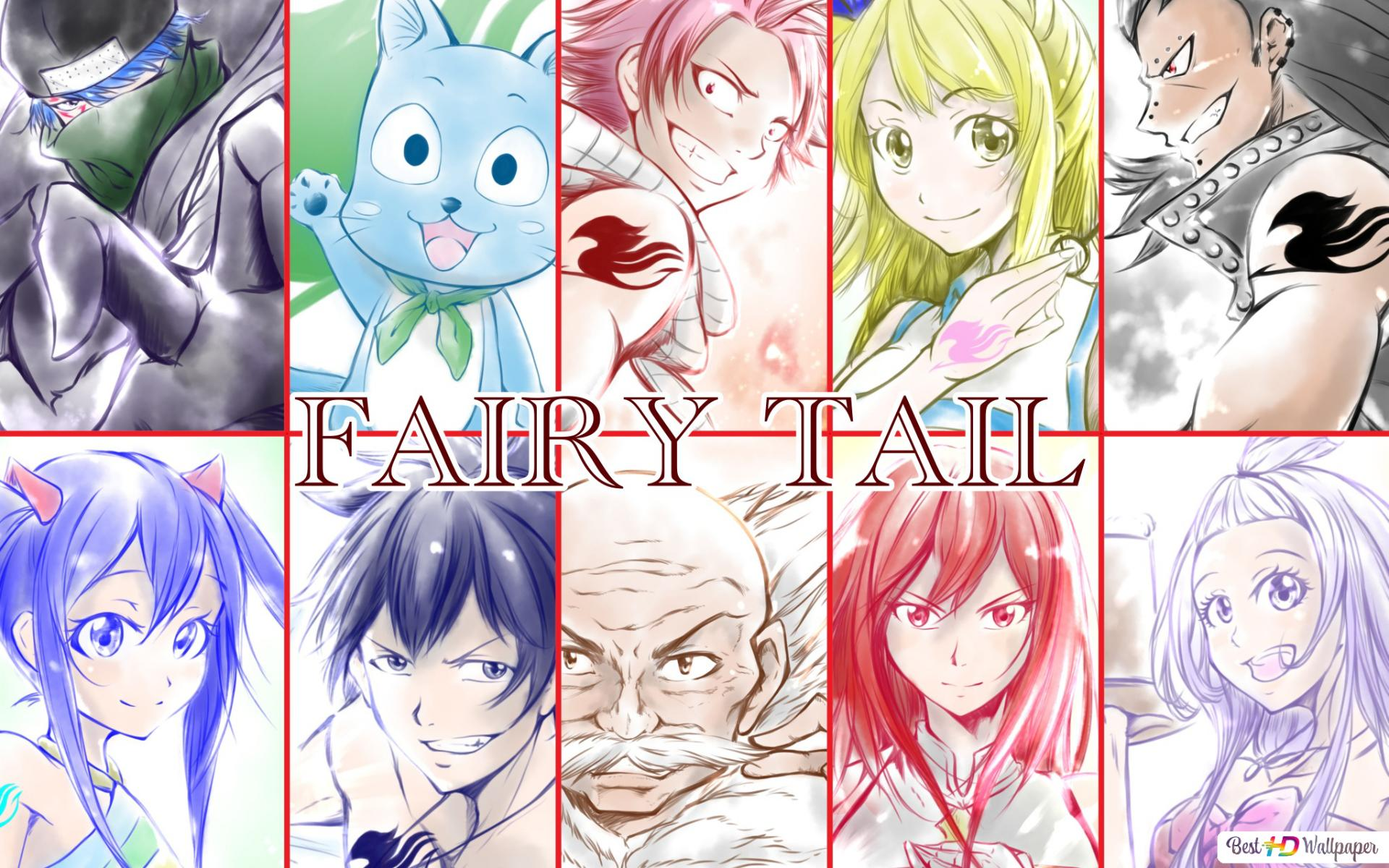 Fairy Tail Guild Hd Wallpaper Download