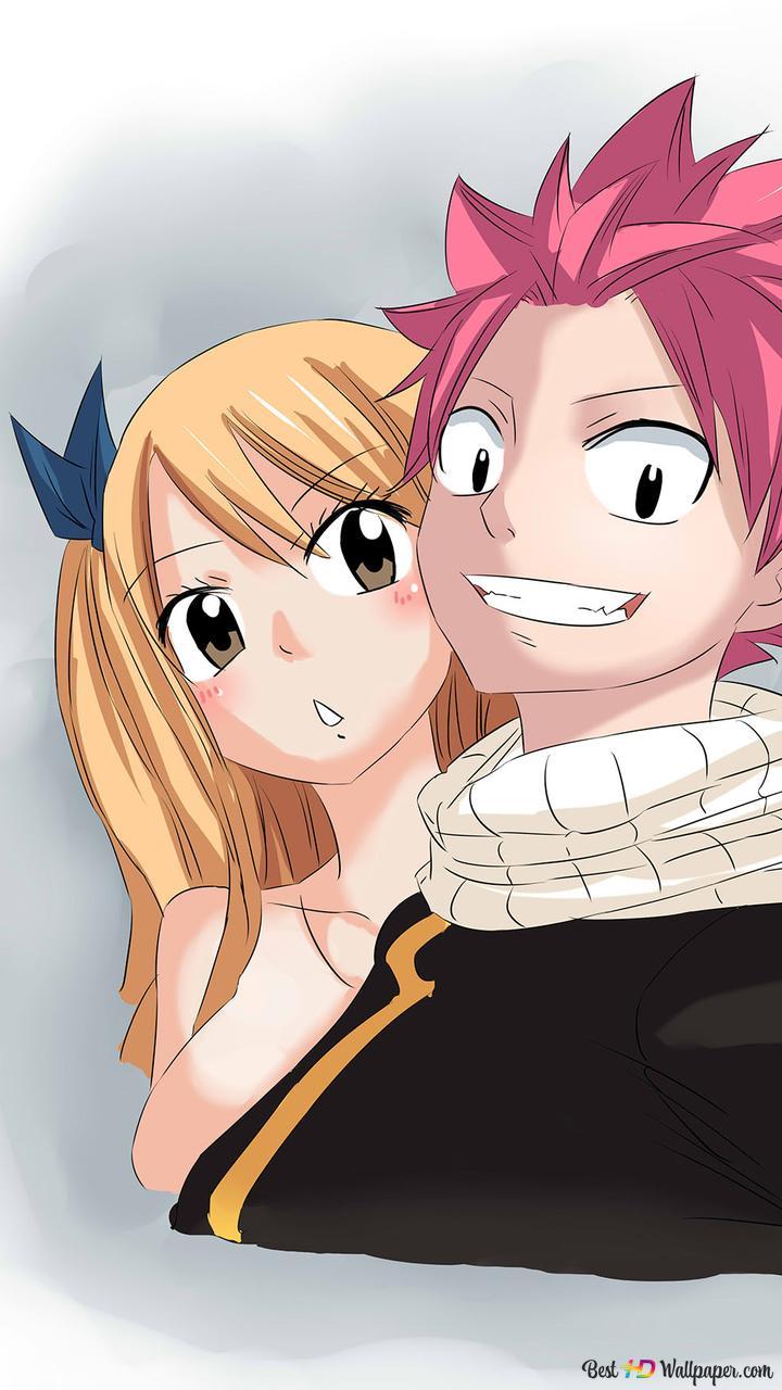 Fairy Tail Lucy Heartfilia Natsu Dragneel Collab Hd