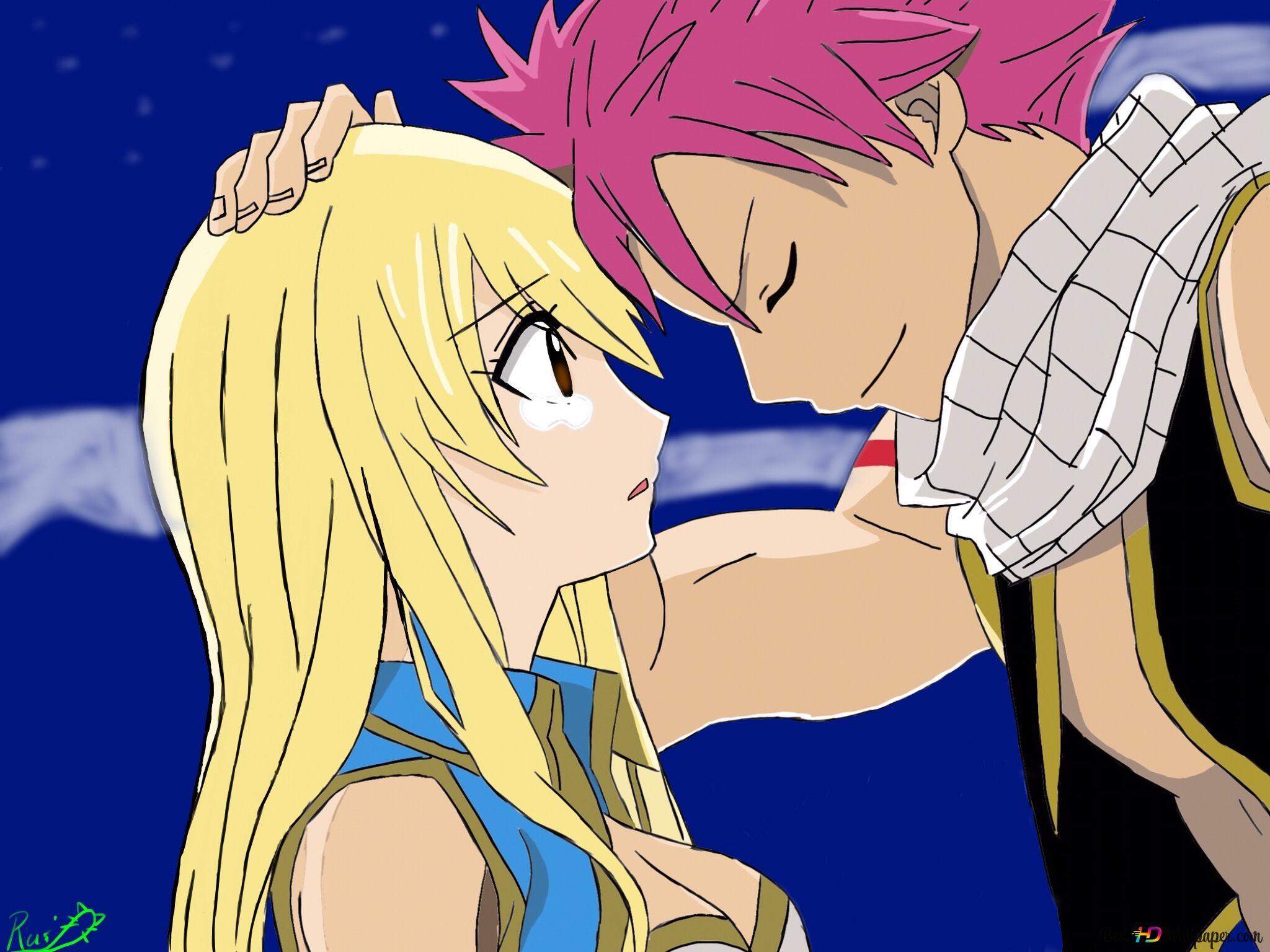 Fairy Tail Lucy Heartfilia Natsu Dragneel Hd