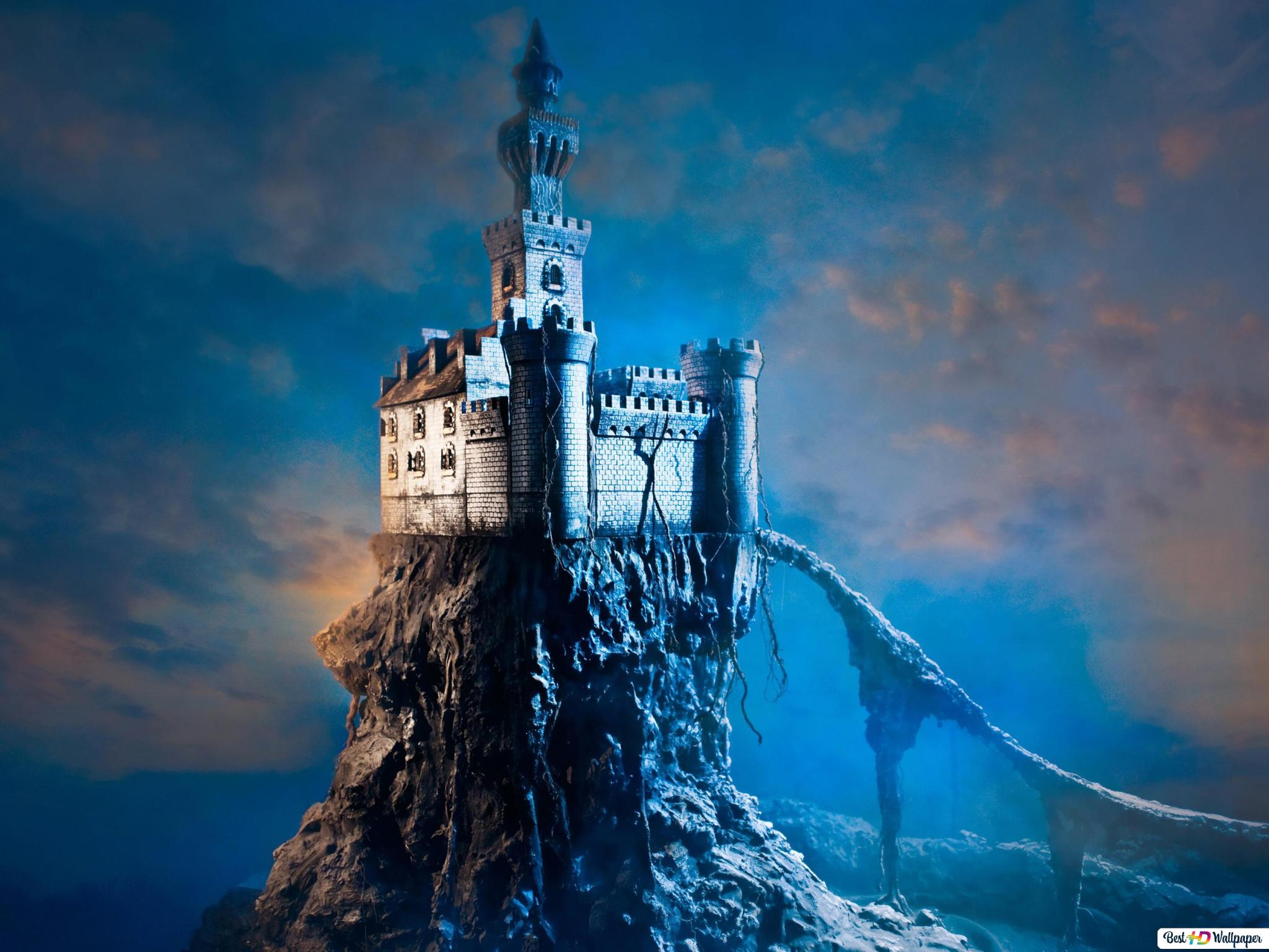 Fantasy Castle Hd Wallpaper Download