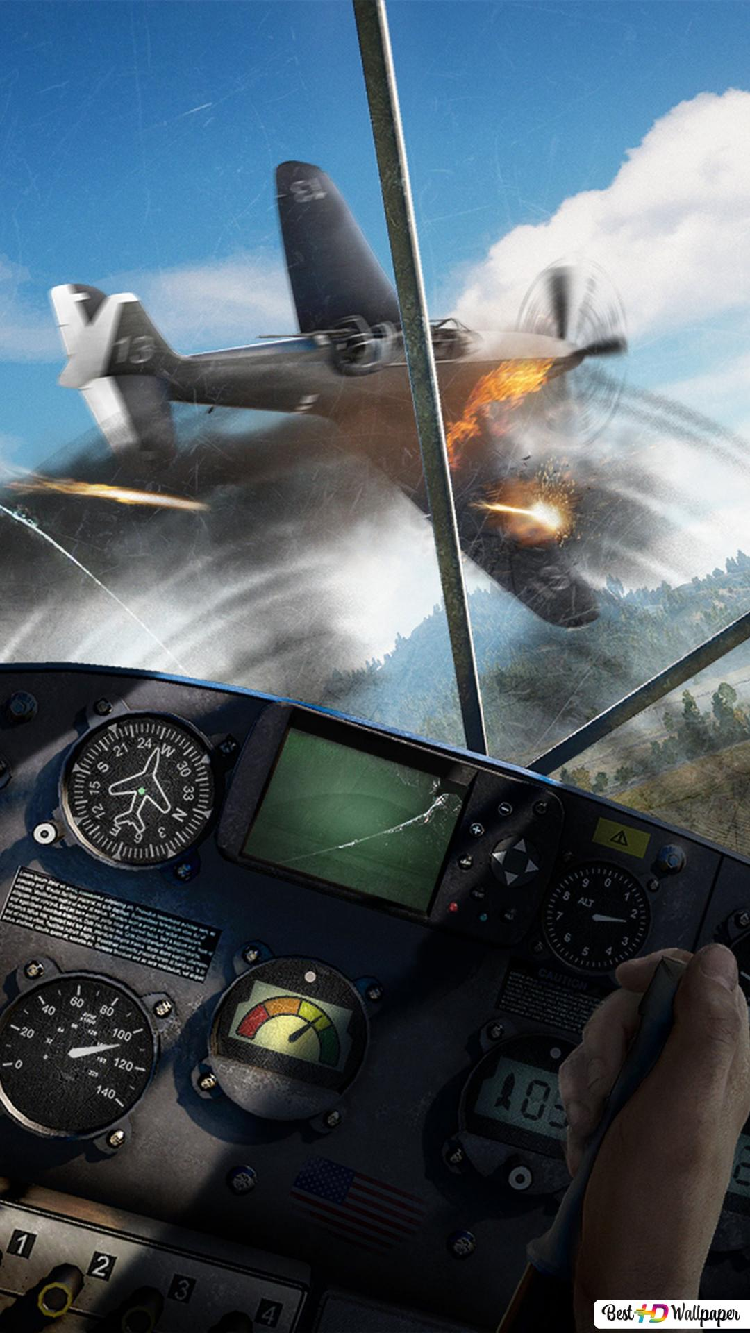 Far Cry 5 Game Planes Battle Hd Wallpaper Download
