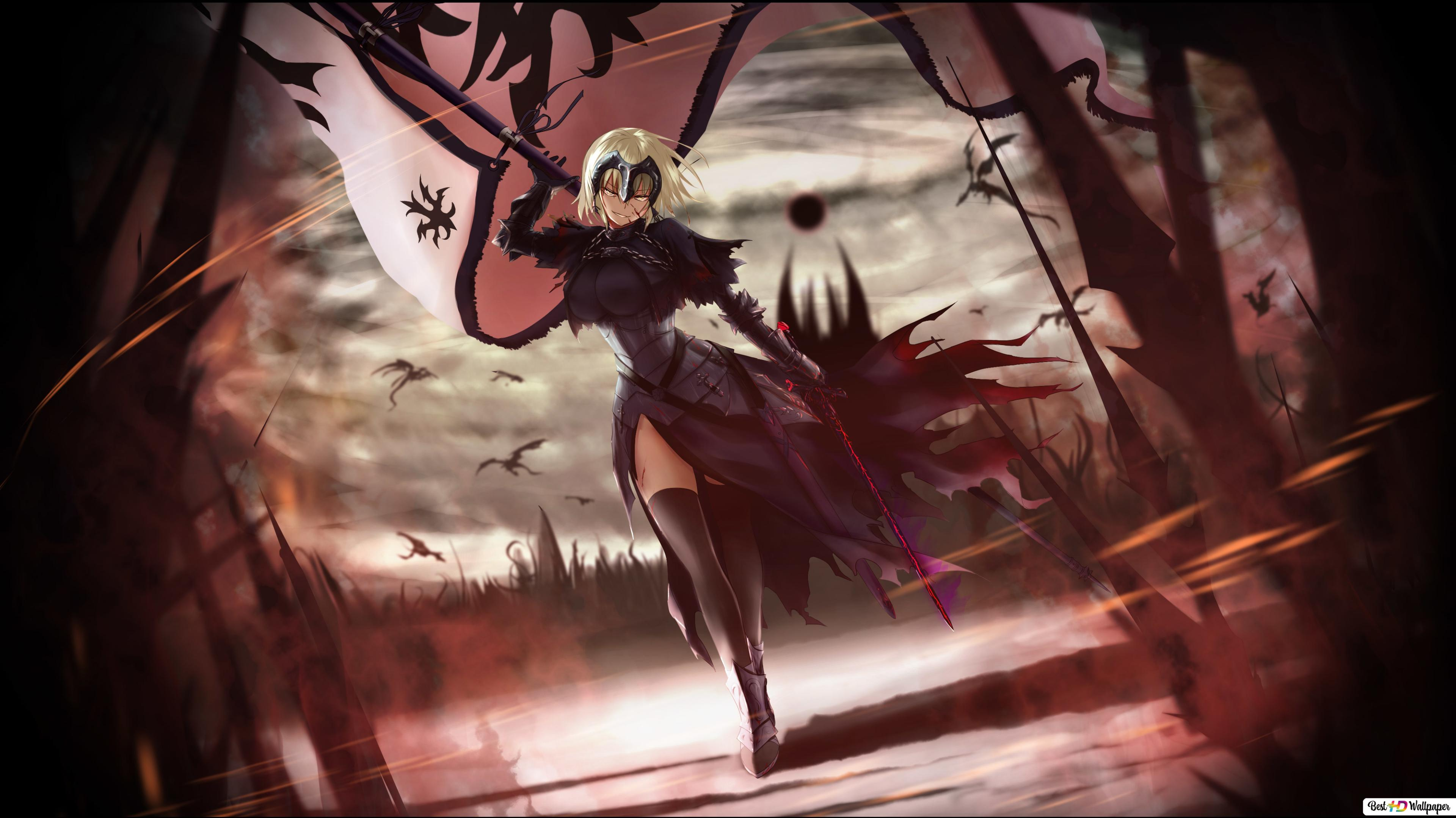 Fate Grand Order Jeanne D Arc Hd Wallpaper Download