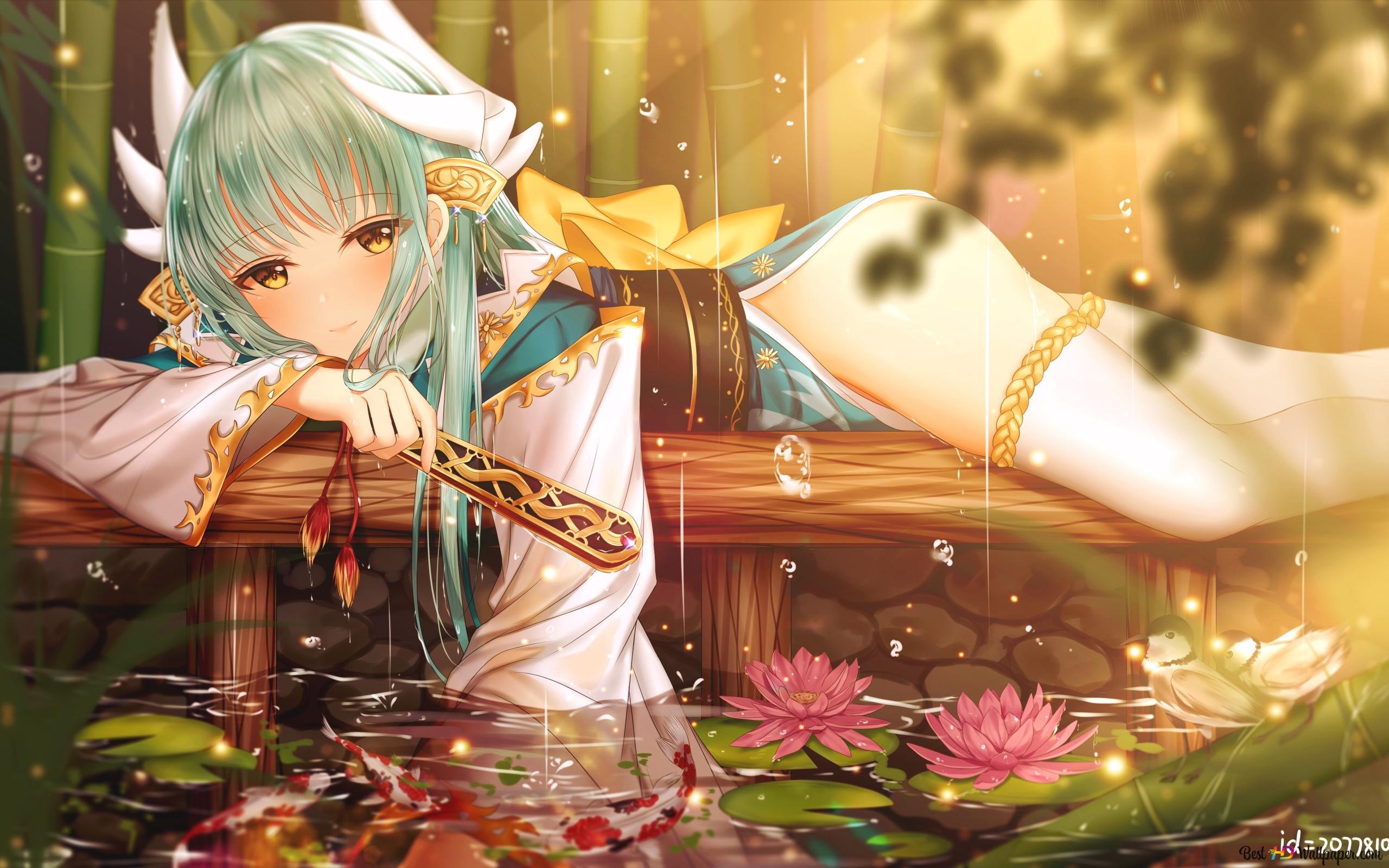Fate Grand Order Kiyohime Berserker Hd Wallpaper Download