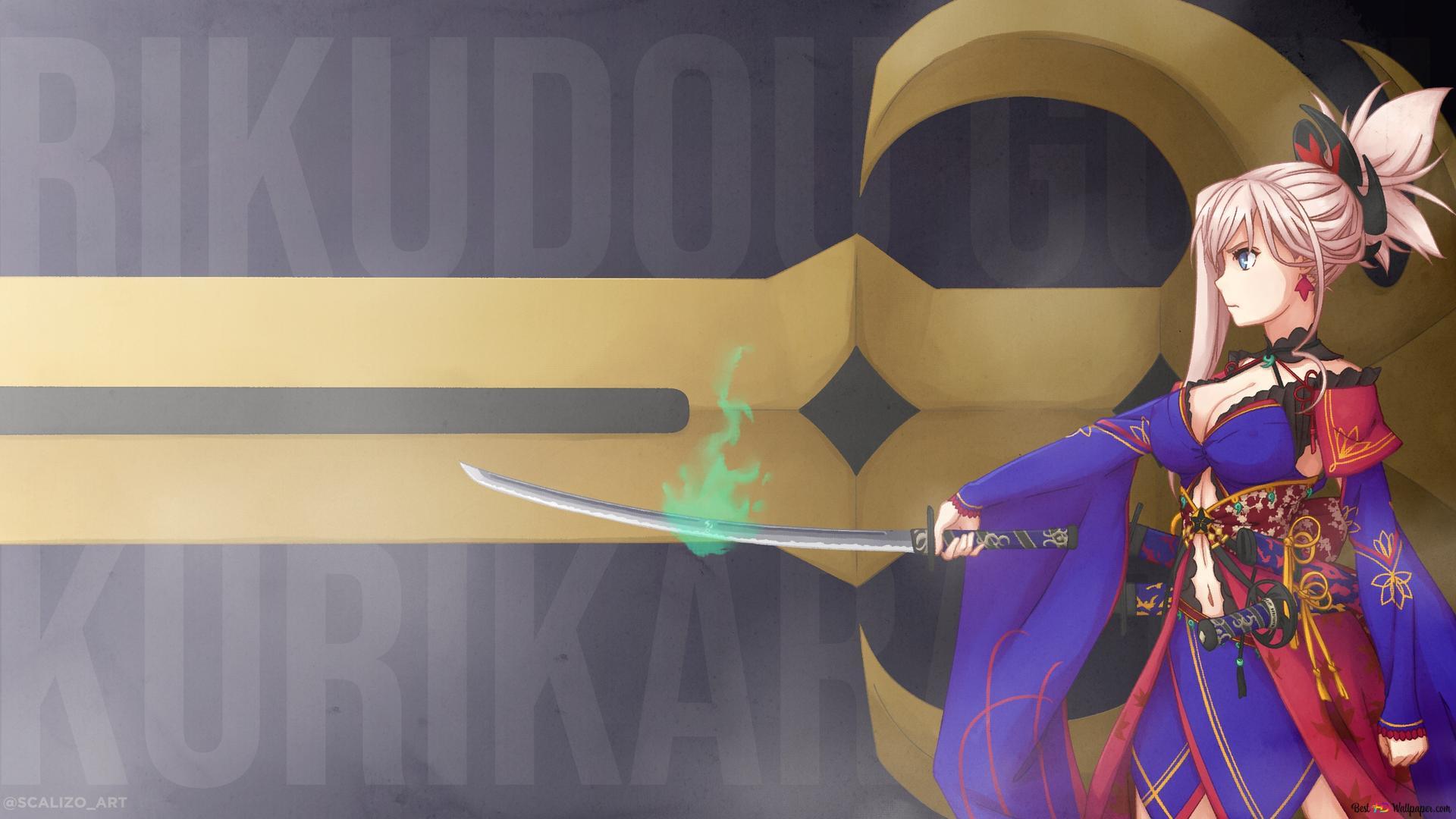 24+ Miyamoto Musashi Fate Grand Order Wallpaper Gif