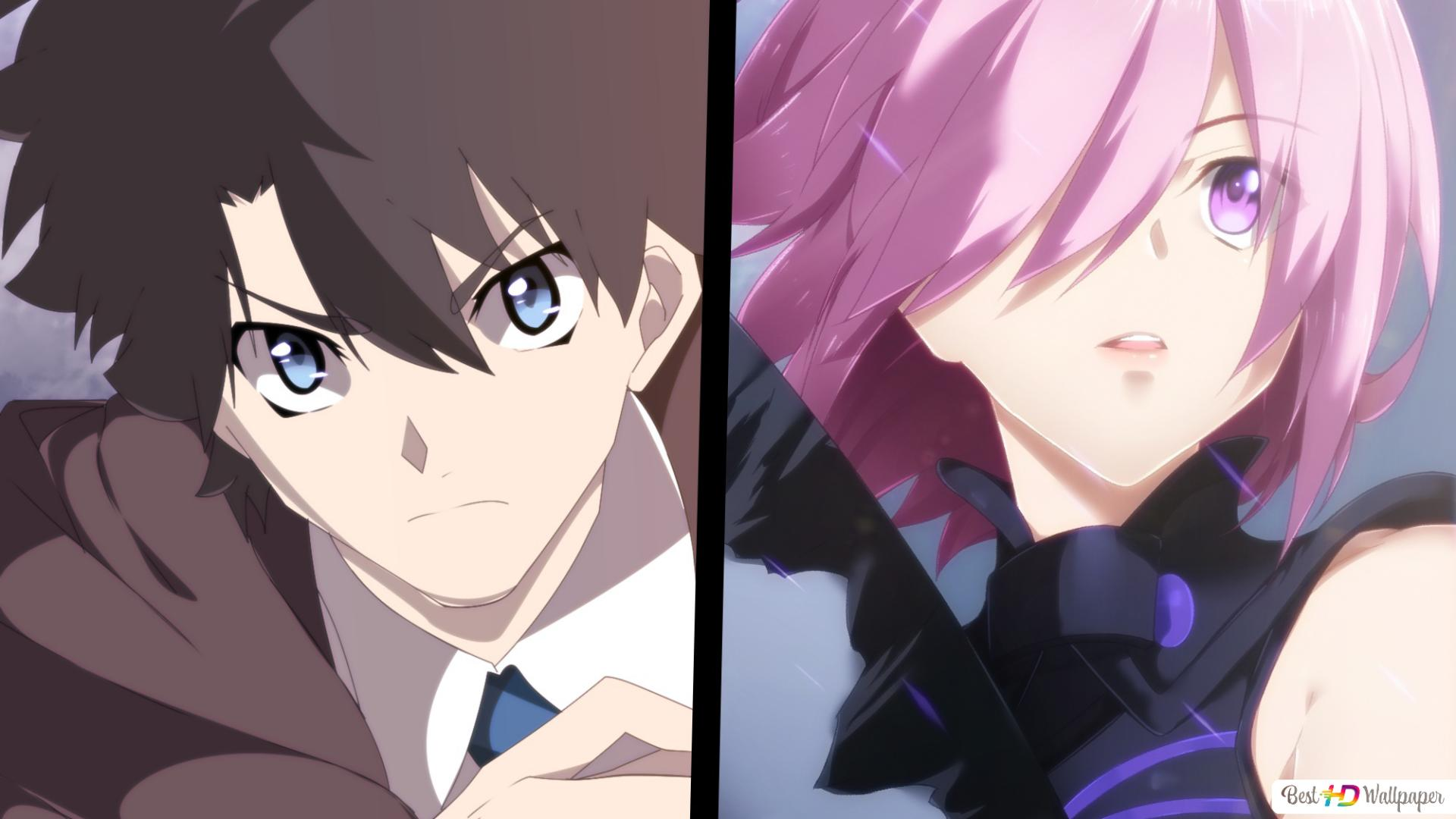 Fate Grand Order Ritsuka Fujimaru Mashu Kyrielight Hd Wallpaper Download