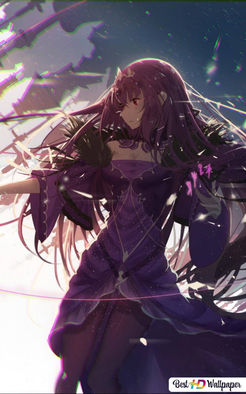 Fate Grand Order Scathach Hd Wallpaper Download