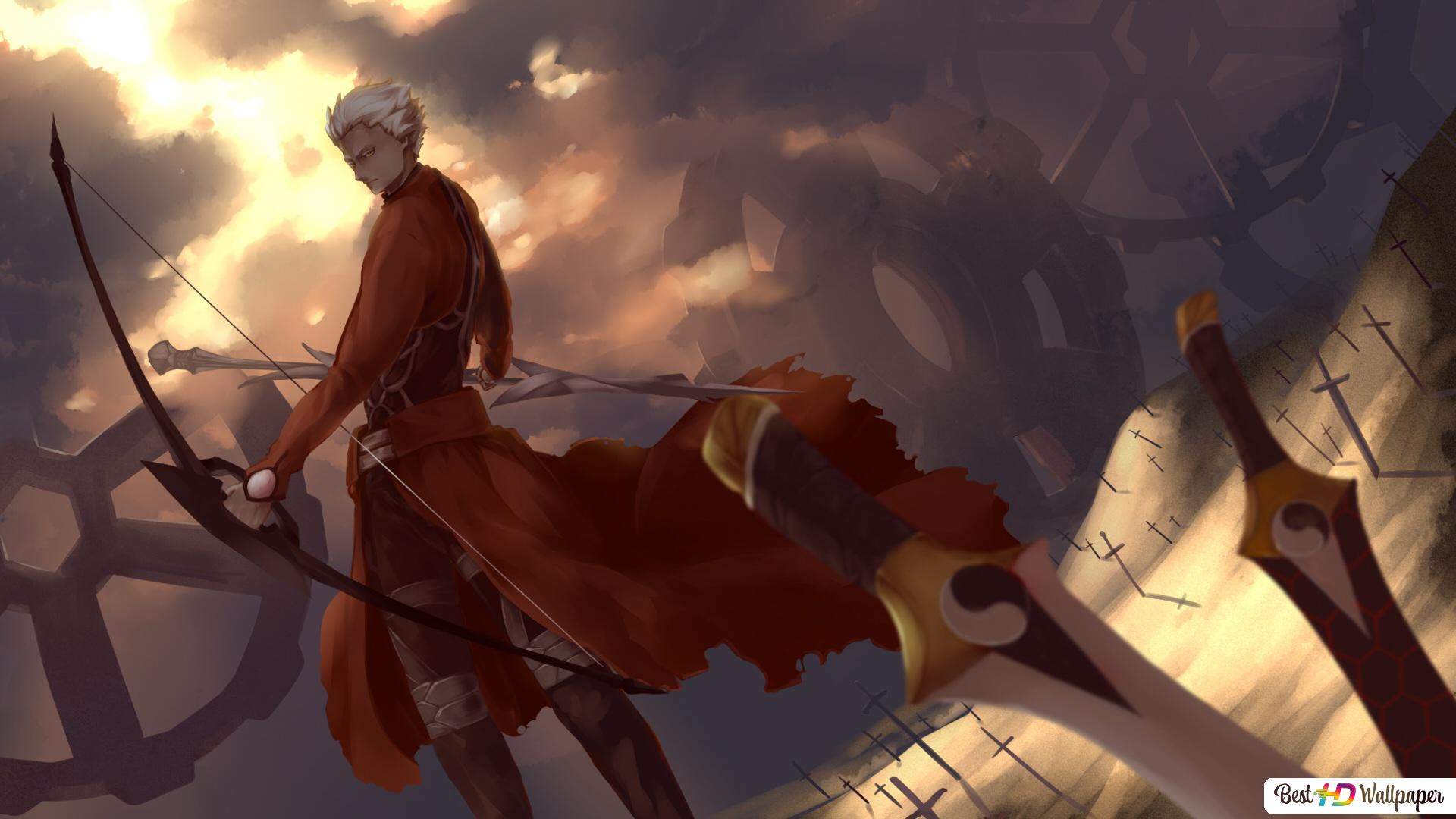 Fate Stay Night Archer Hd Wallpaper Download