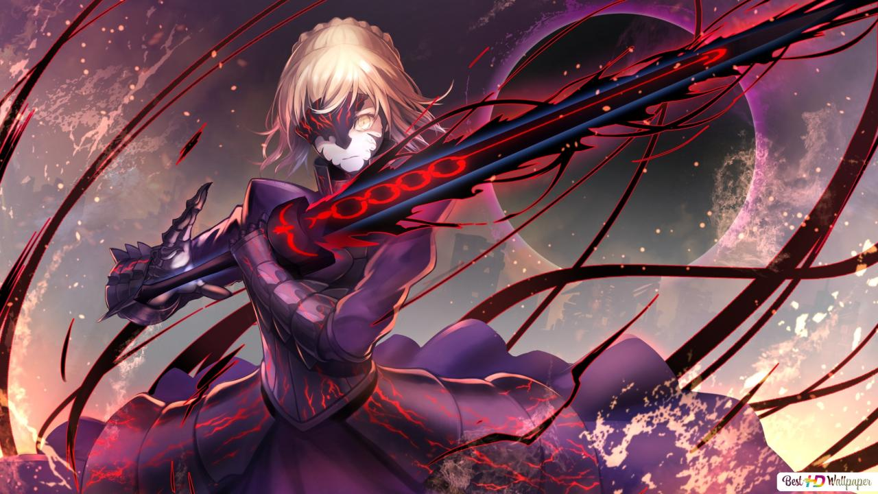 Fate Stay Night Heavens Feel Saber Alter Hd Wallpaper Download