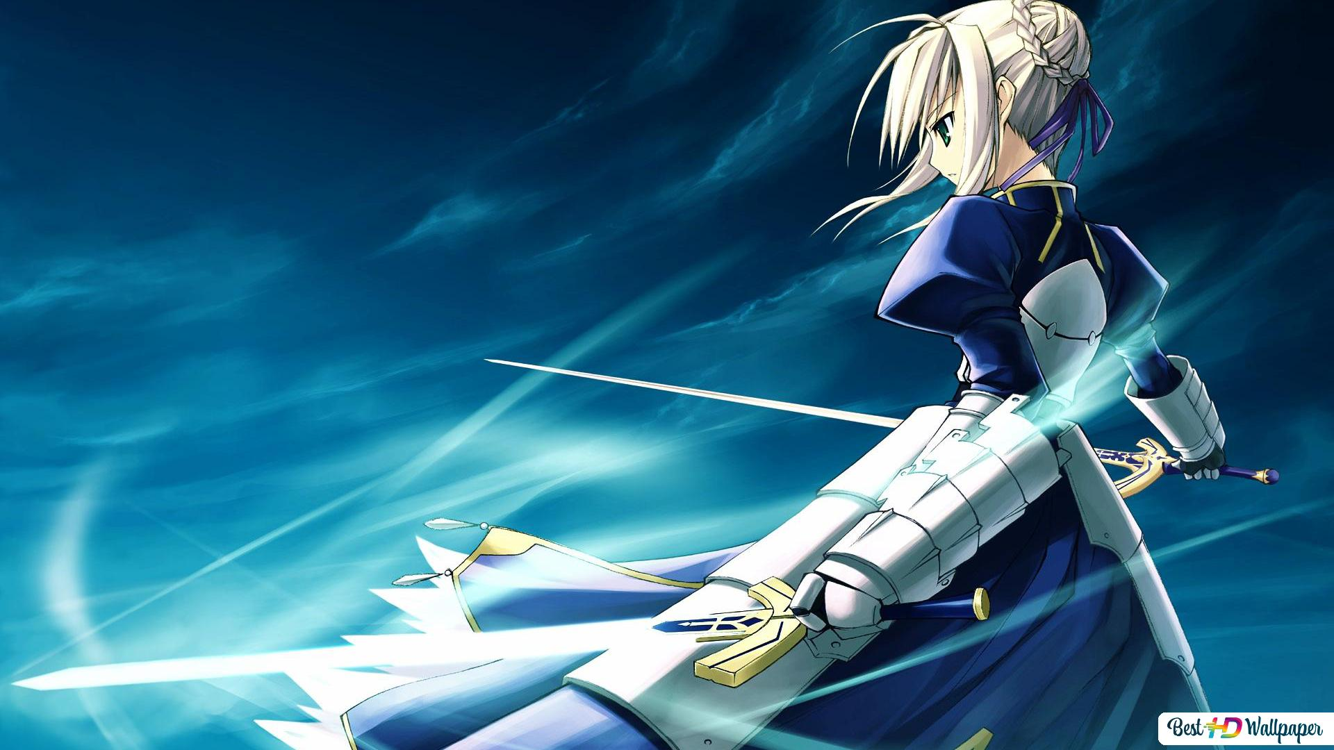 Fate Stay Night Saber Hd Wallpaper Download