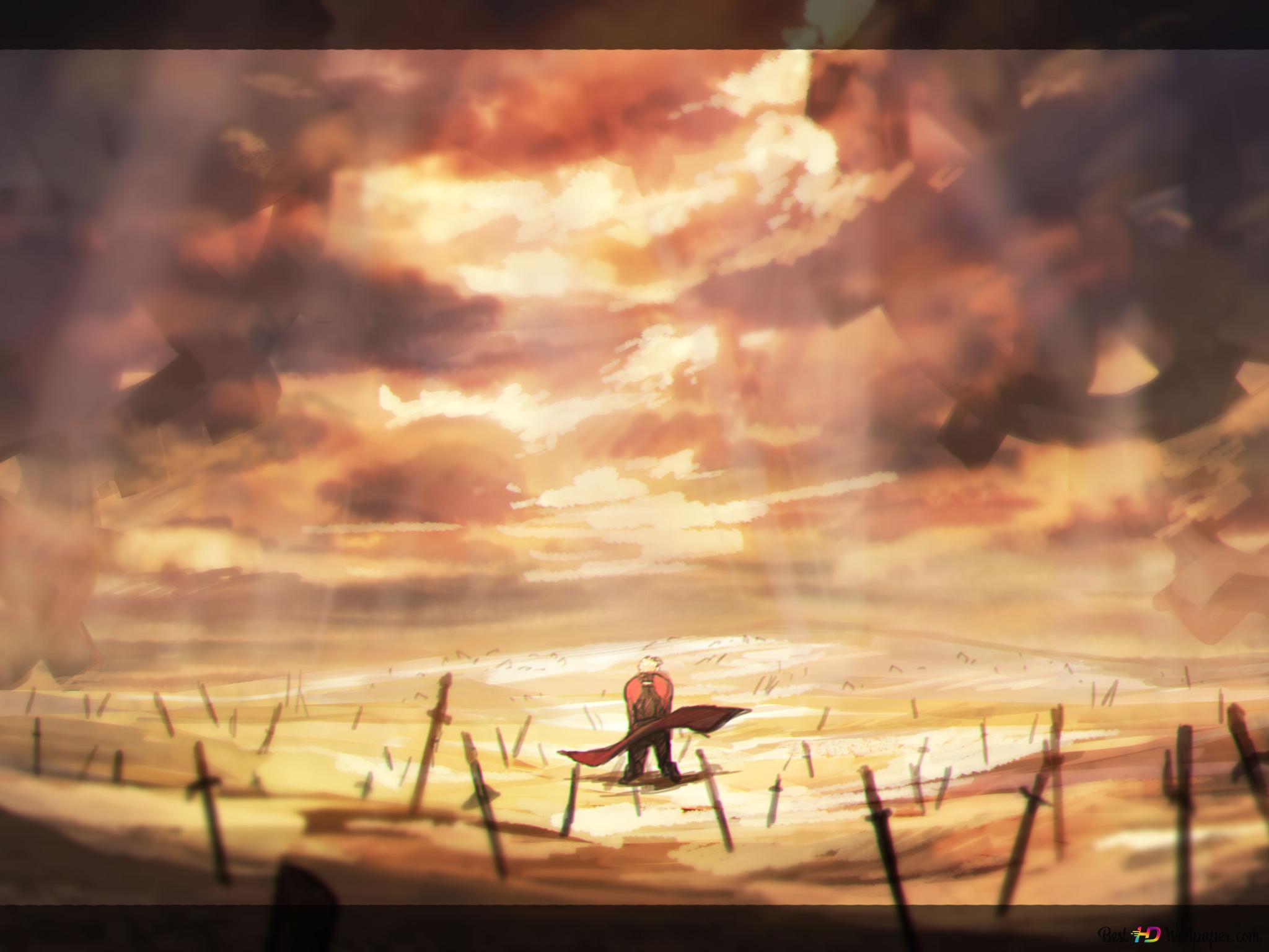 Fate Stay Night Unlimited Blade Works Emiya Hd Wallpaper Download