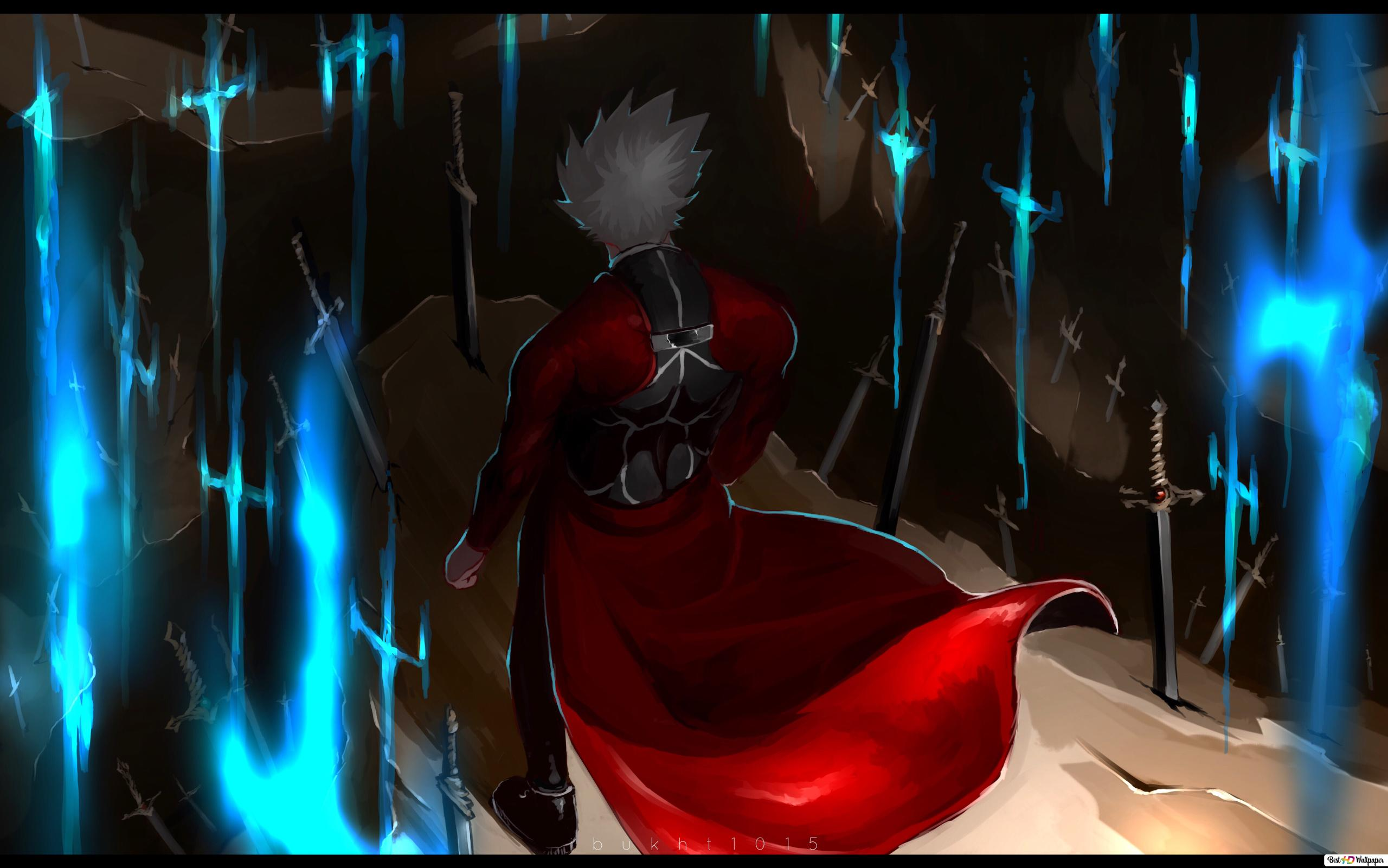 Fate/stay night: unlimited blade works artoria pendragon hd.
