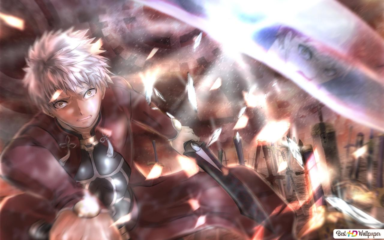 Fate Stay Night Unlimited Blade Works Shirou Emiya Vs Emiya
