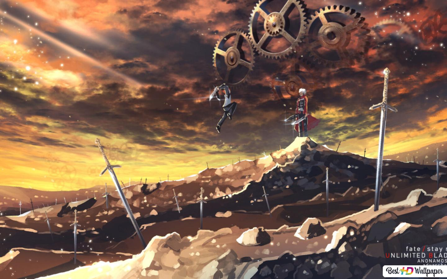 Fate Stay Night Unlimited Blade Works Hd Wallpaper Download