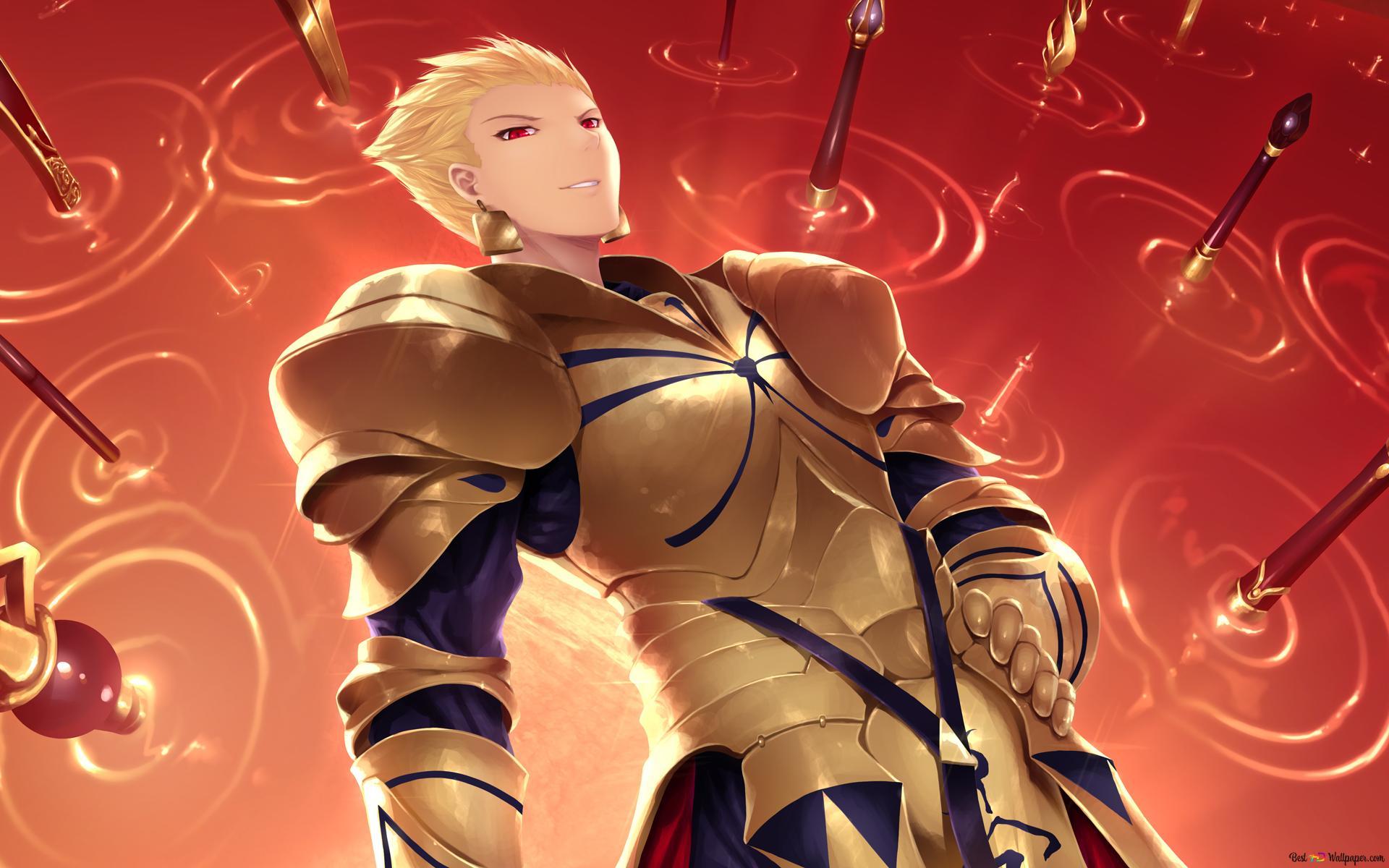 Descargar Fondo De Pantalla Fate Zero Gilgamesh Hd