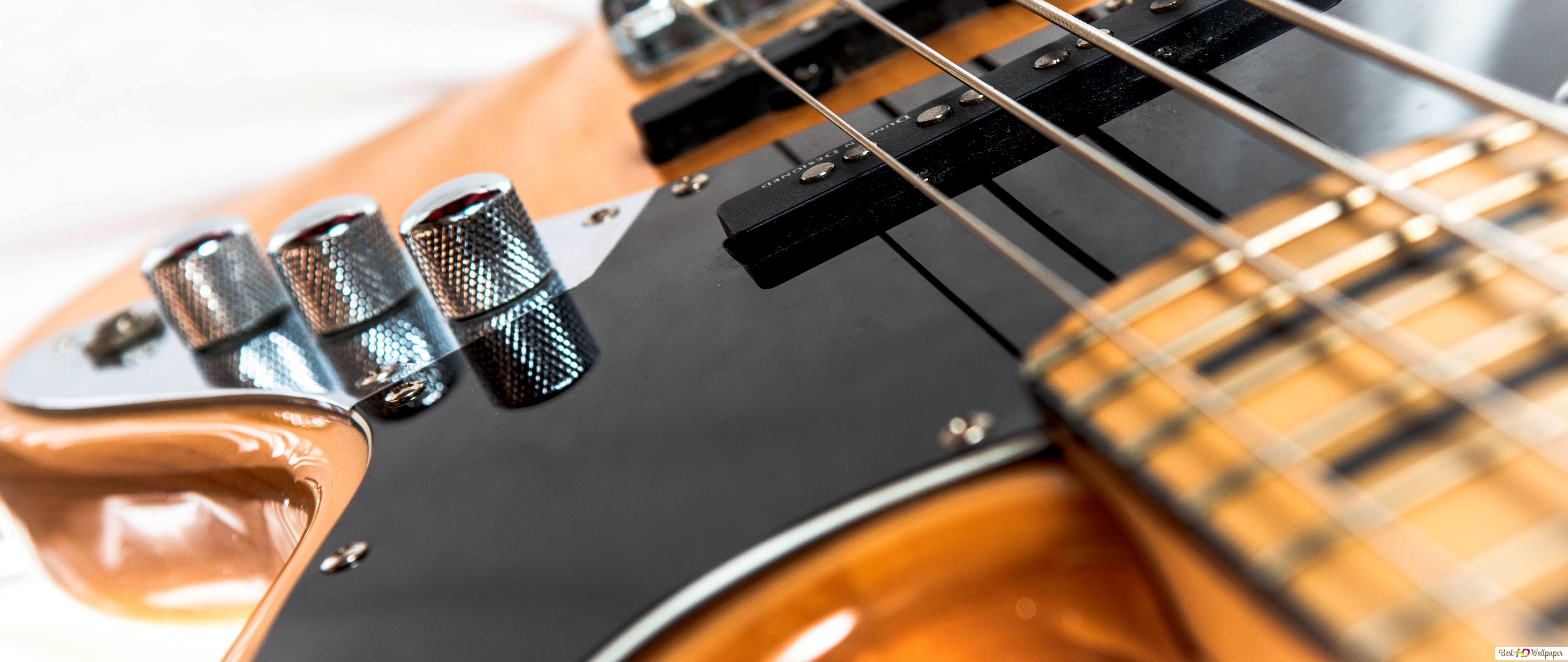 Descargar Fondo De Pantalla Fender Jazz Bass Con Una