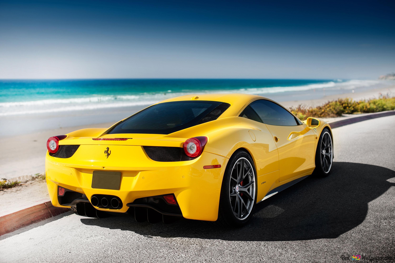Обои Феррари, Ferrari 458 italia, улица. Автомобили foto 19