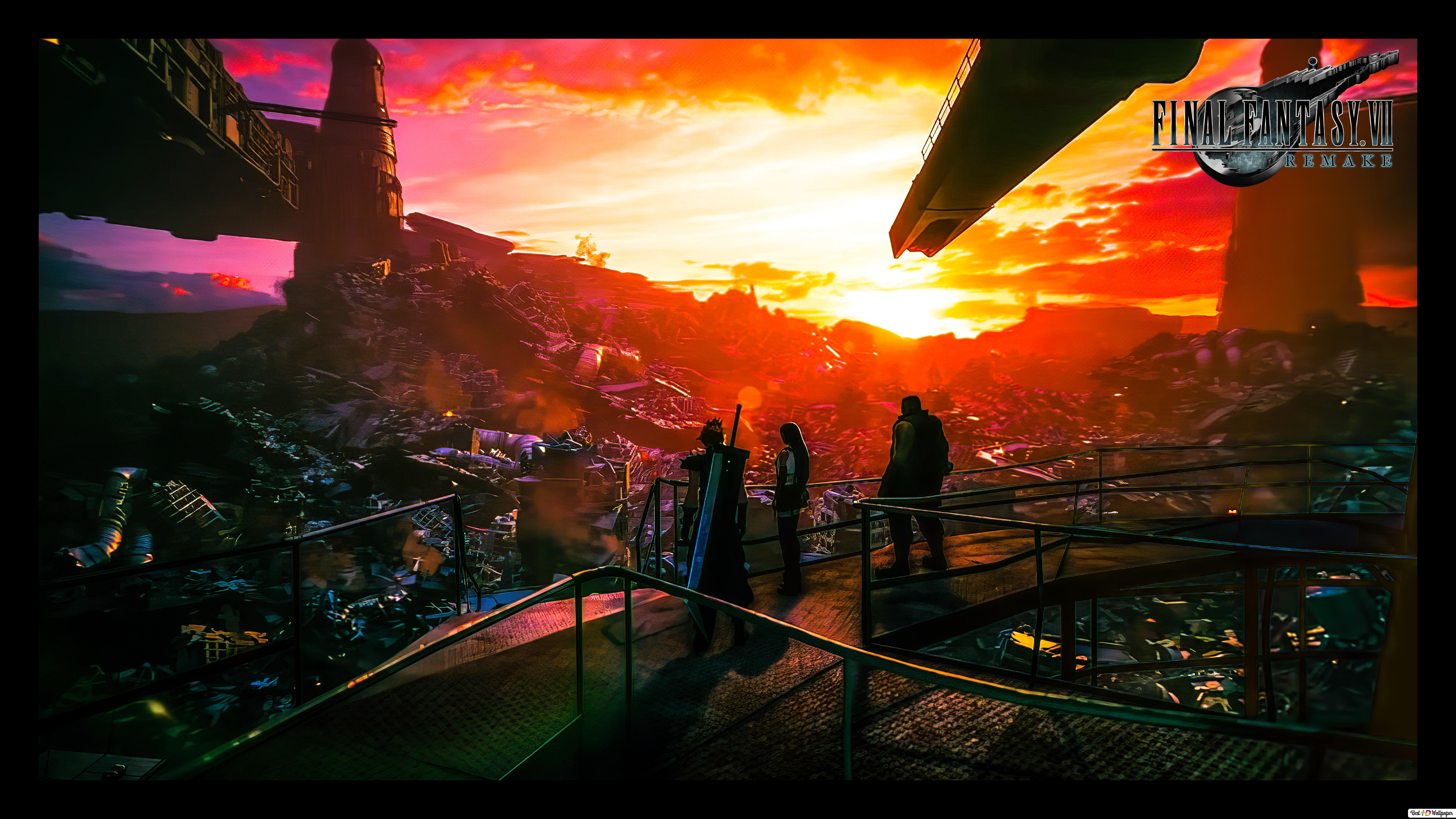 Final Fantasy 7 Remake 8k 4k Hd Wallpaper Download